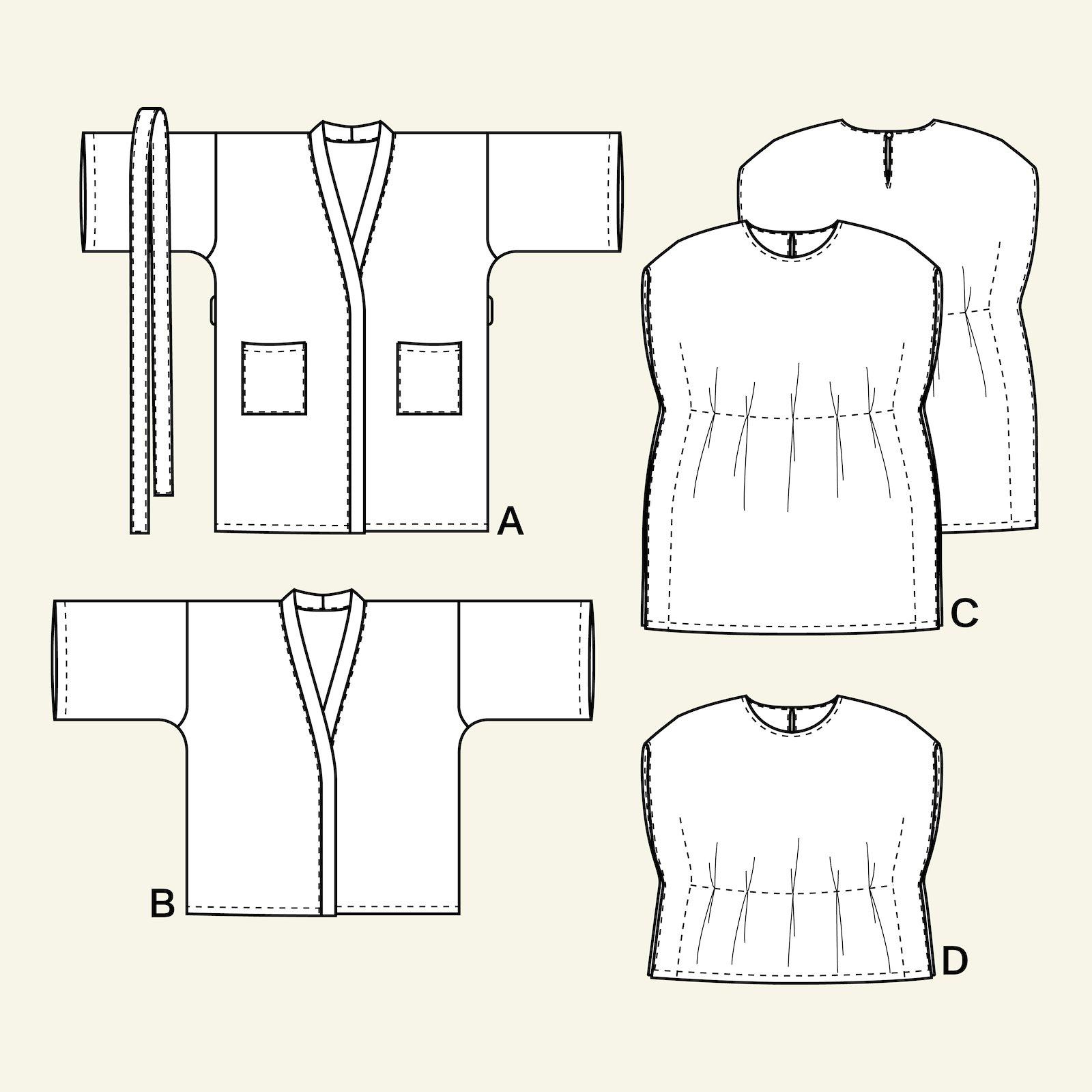 Kimono and tunika, 104/4y p63057_pack