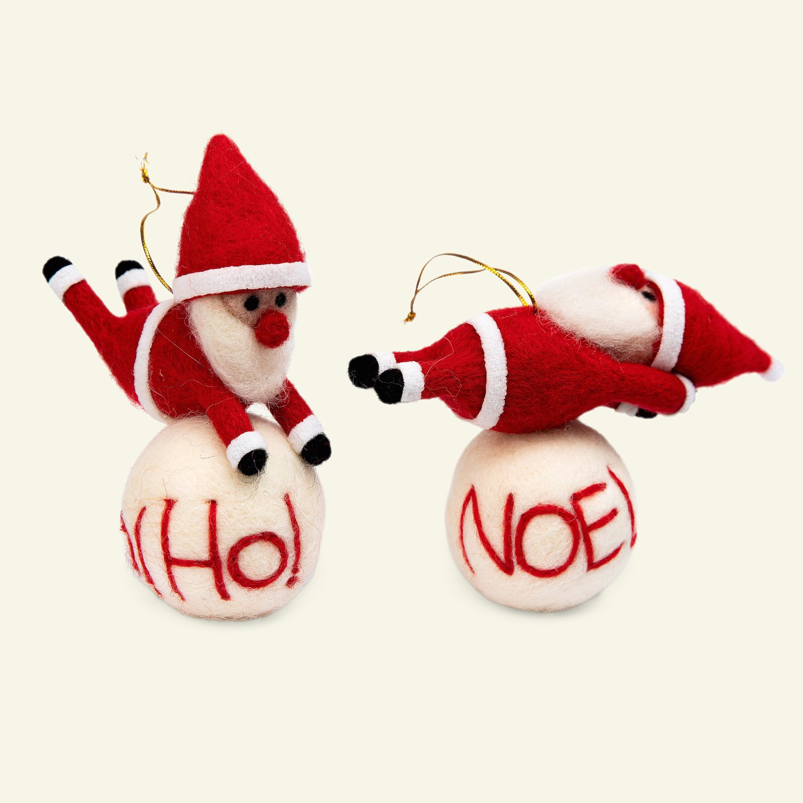 Kit wool elf and ball 14cm 2pcs 93781_pack