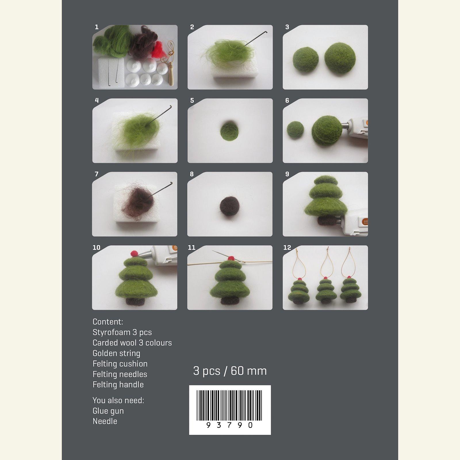 Kit wool tree 6cm green 3pcs 93790_pack_c