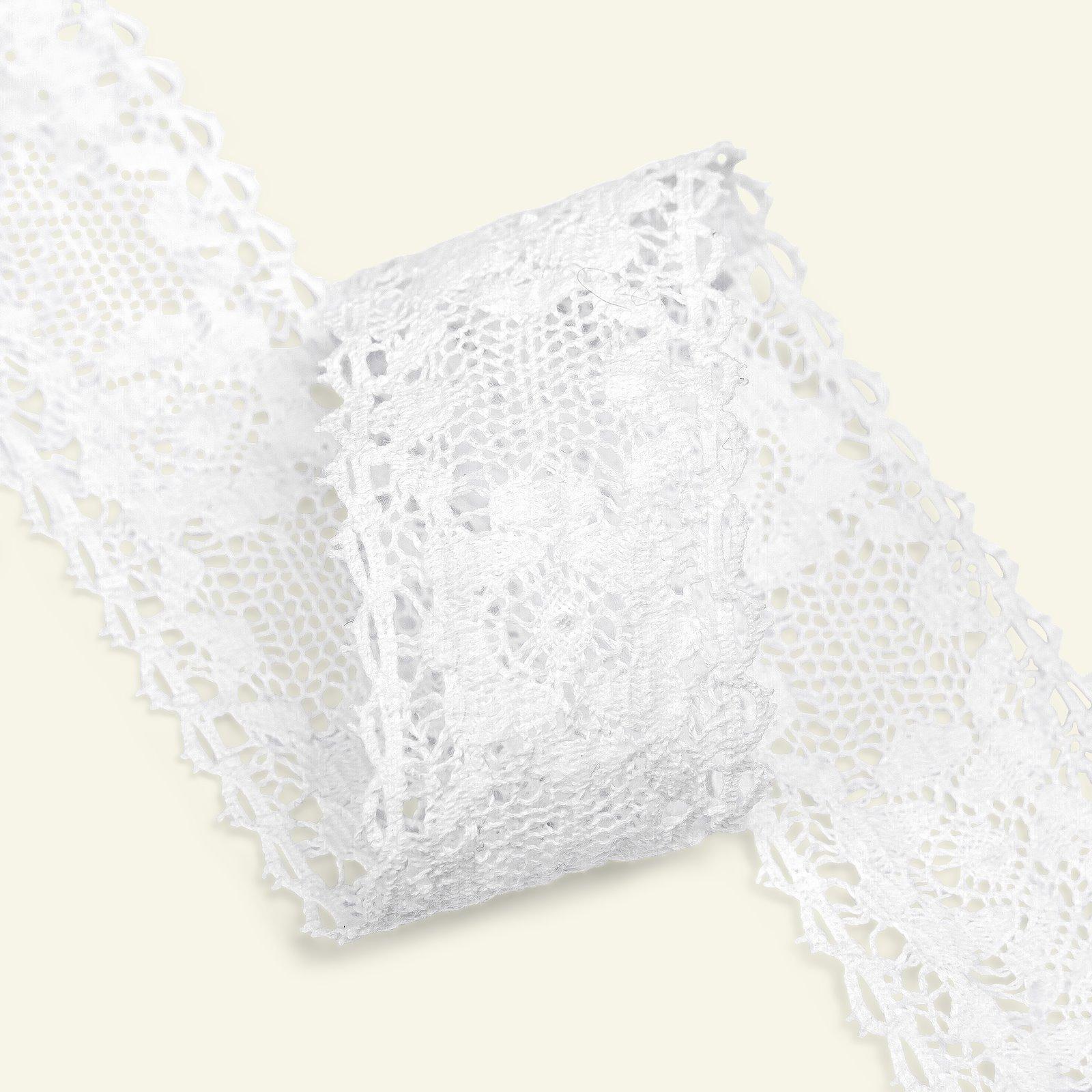 Lace cotton 45mm white 1,5m 25178_pack