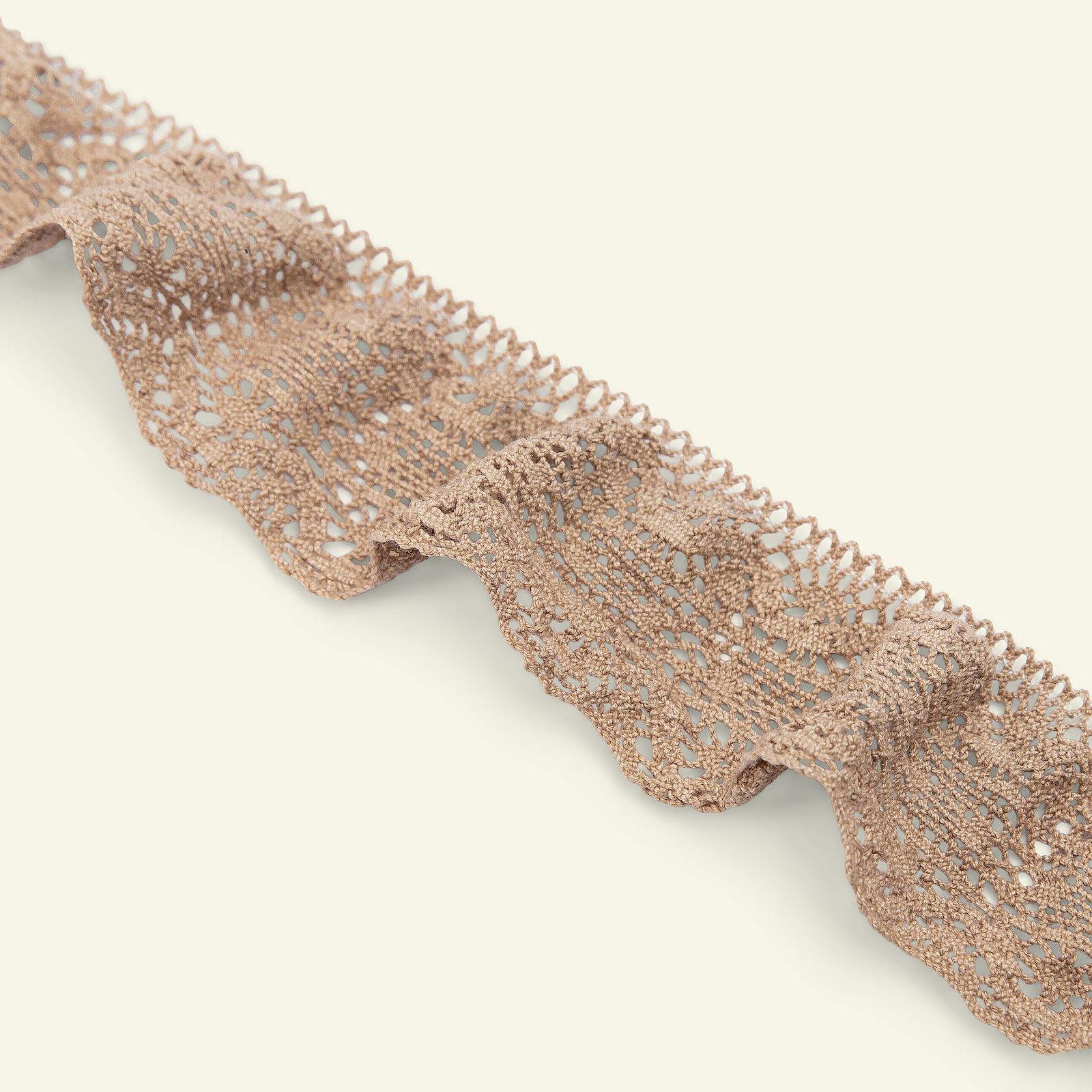 Lace stretch 45mm dark beige 1,5m 22247_pack