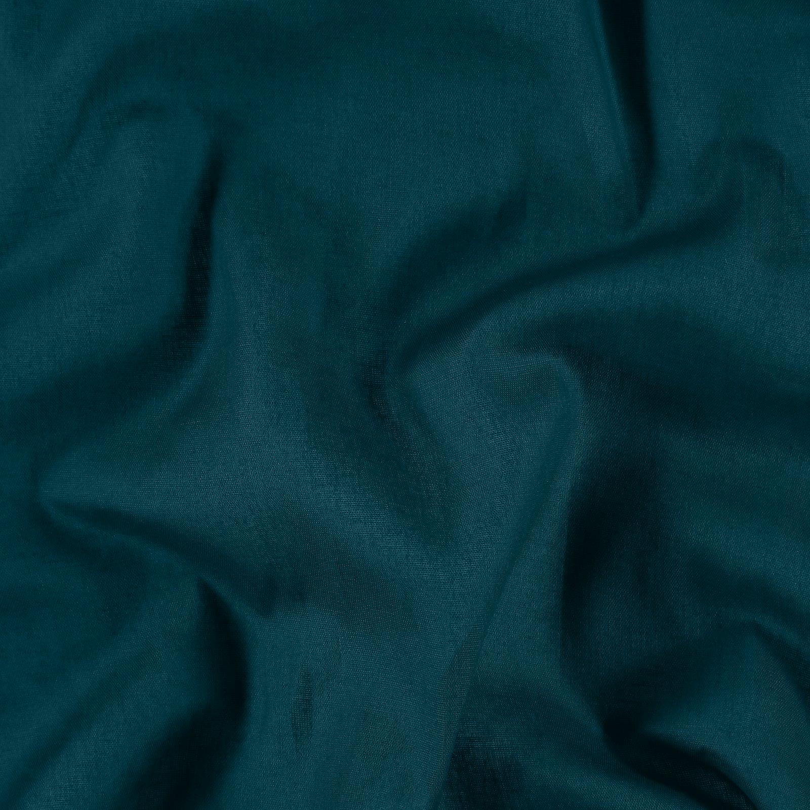Light woven cotton petrol green 842296_pack
