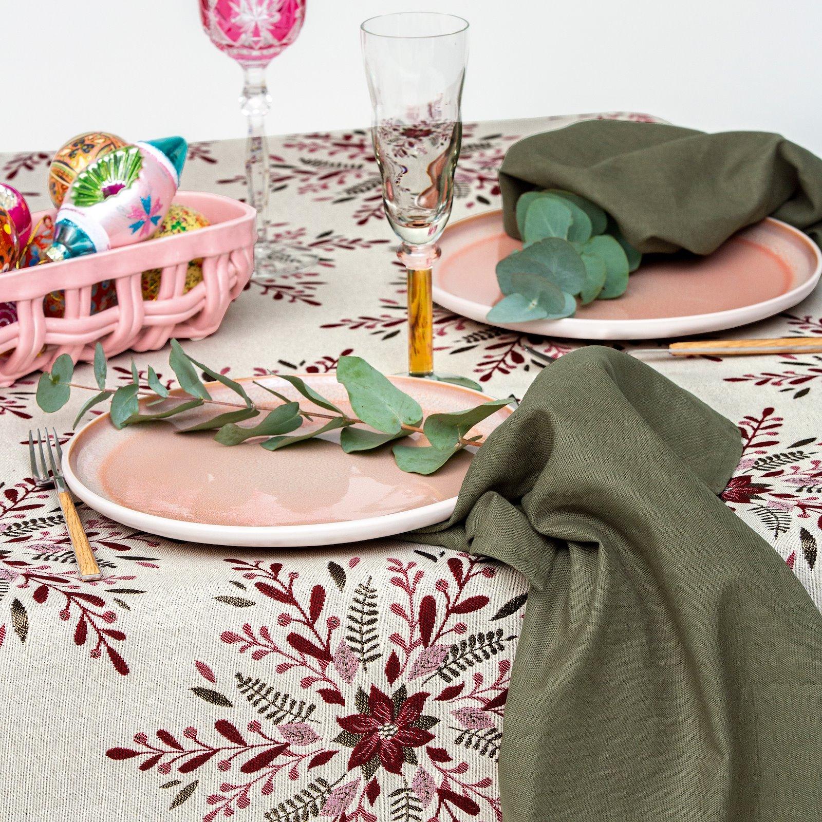 Linen/cotton army green DIY8003_824162_410145_bundle