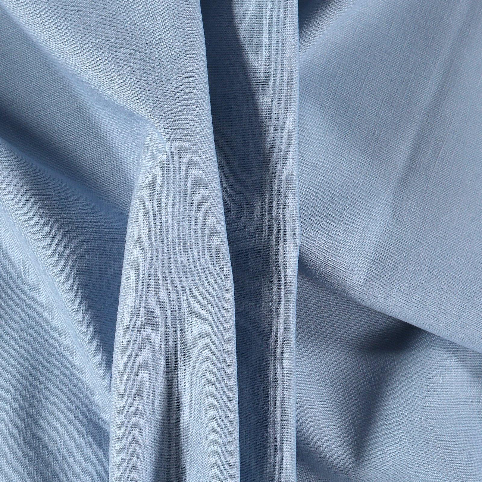 Linen/cotton dusty light blue 410135_pack