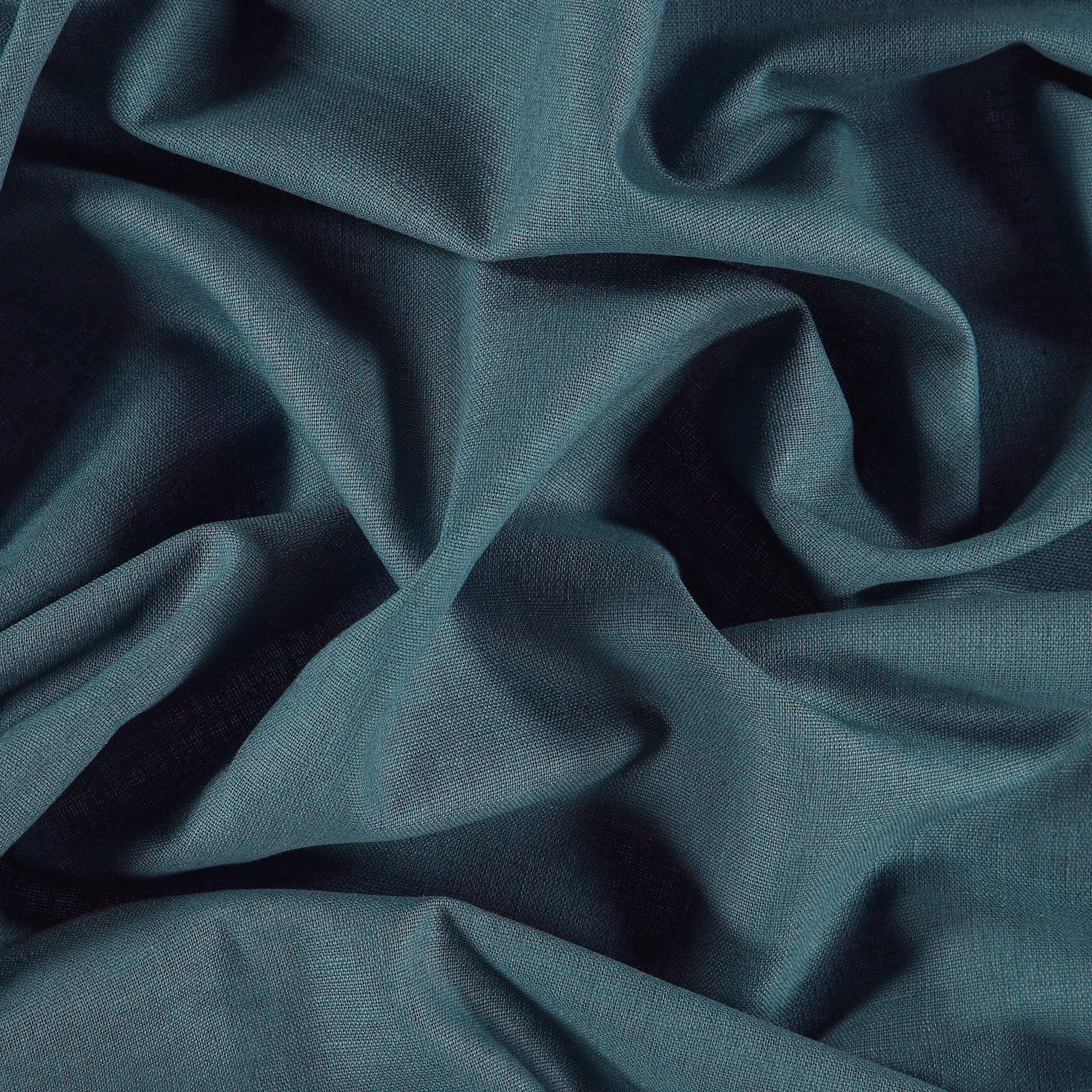 Linen/cotton petrol blue 410129_pack