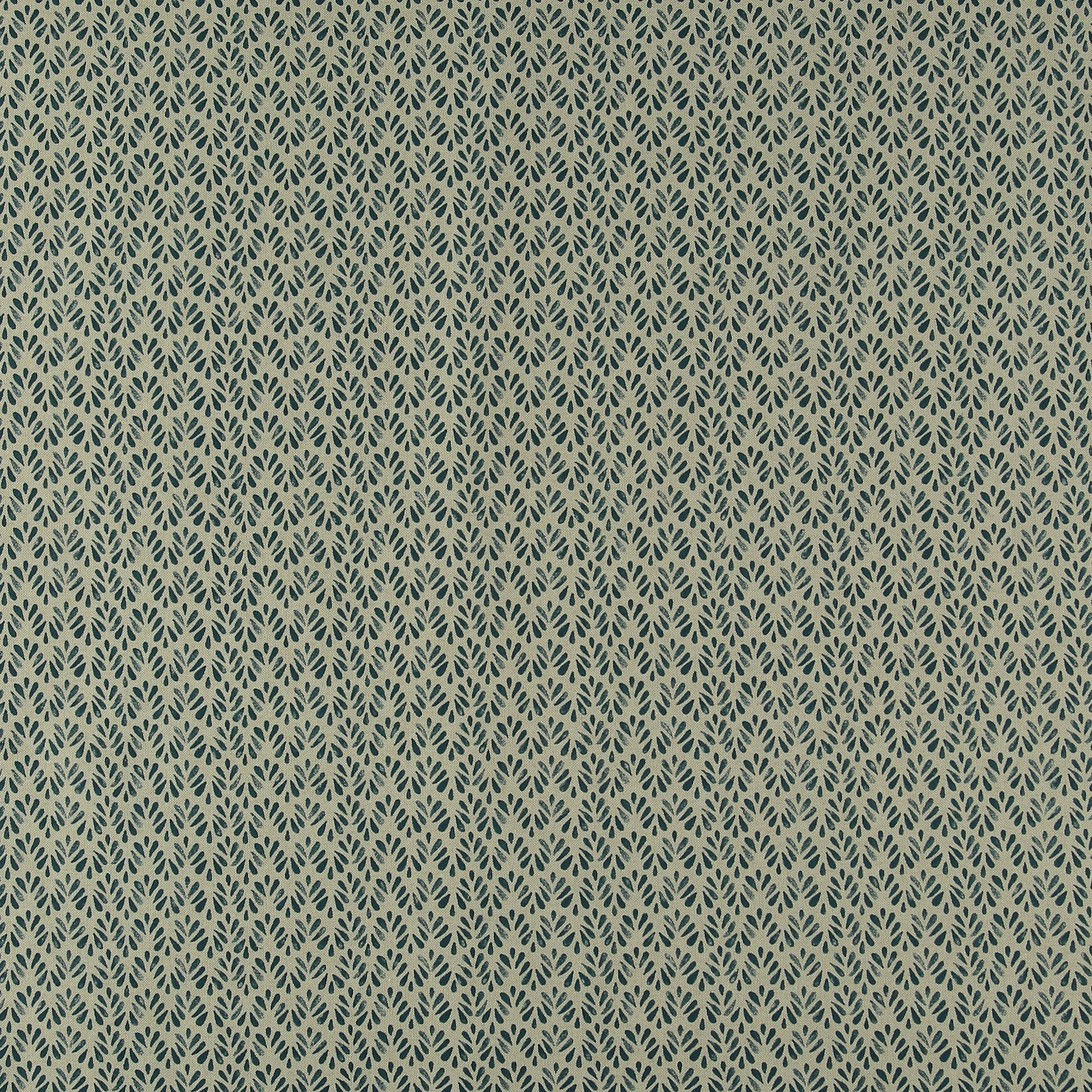 Linen look with petrol leaf print 760296_pack_sp