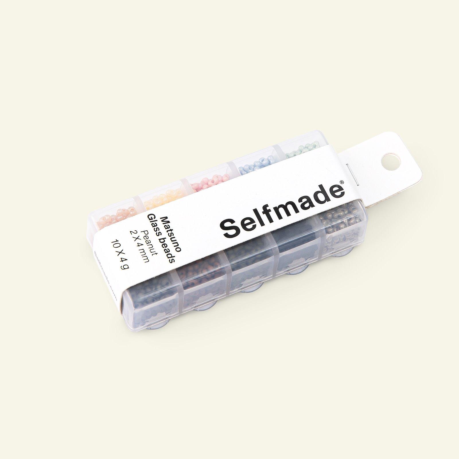 Matsuno Glasperlen Erdnuss 2x4mm 40g 47199_pack