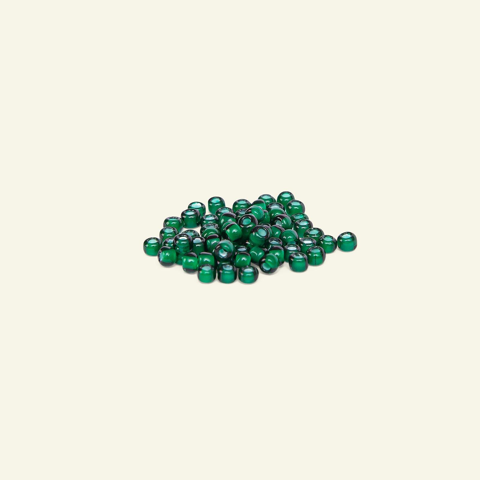 Matsuno glass bead 8/0 dark green 10g 47123_pack_b