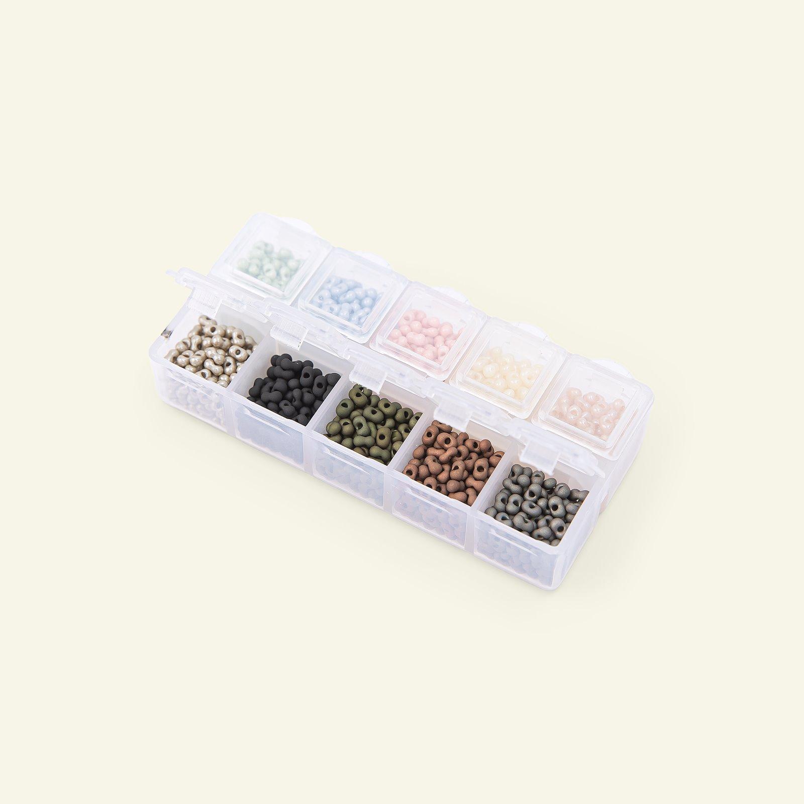 Matsuno glassbead peanut 2x4mm 10col 40g 47199_pack_b