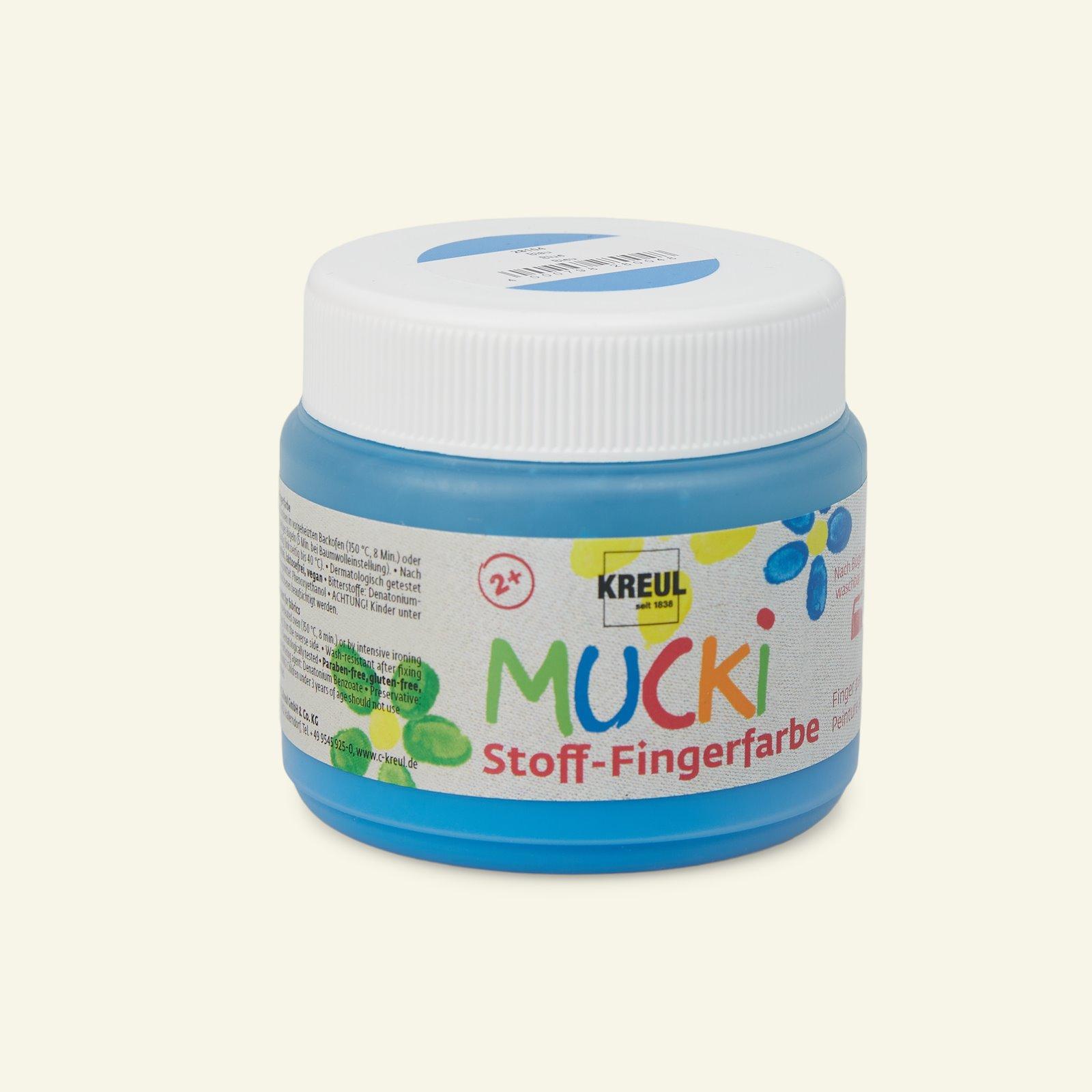 Mucki finger paint blue 150ml 29692_pack_b