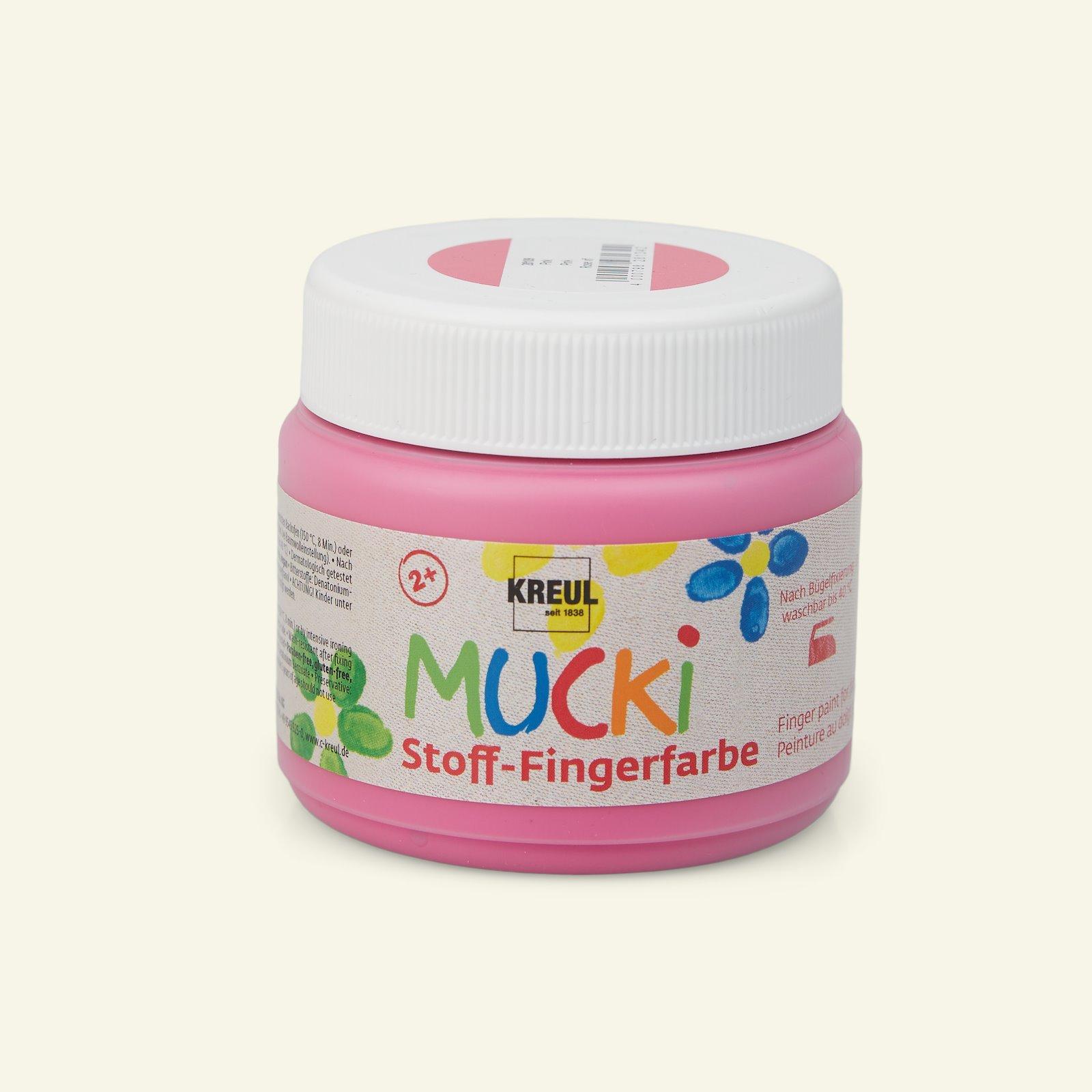Mucki finger paint pink 150ml 29689_pack_b
