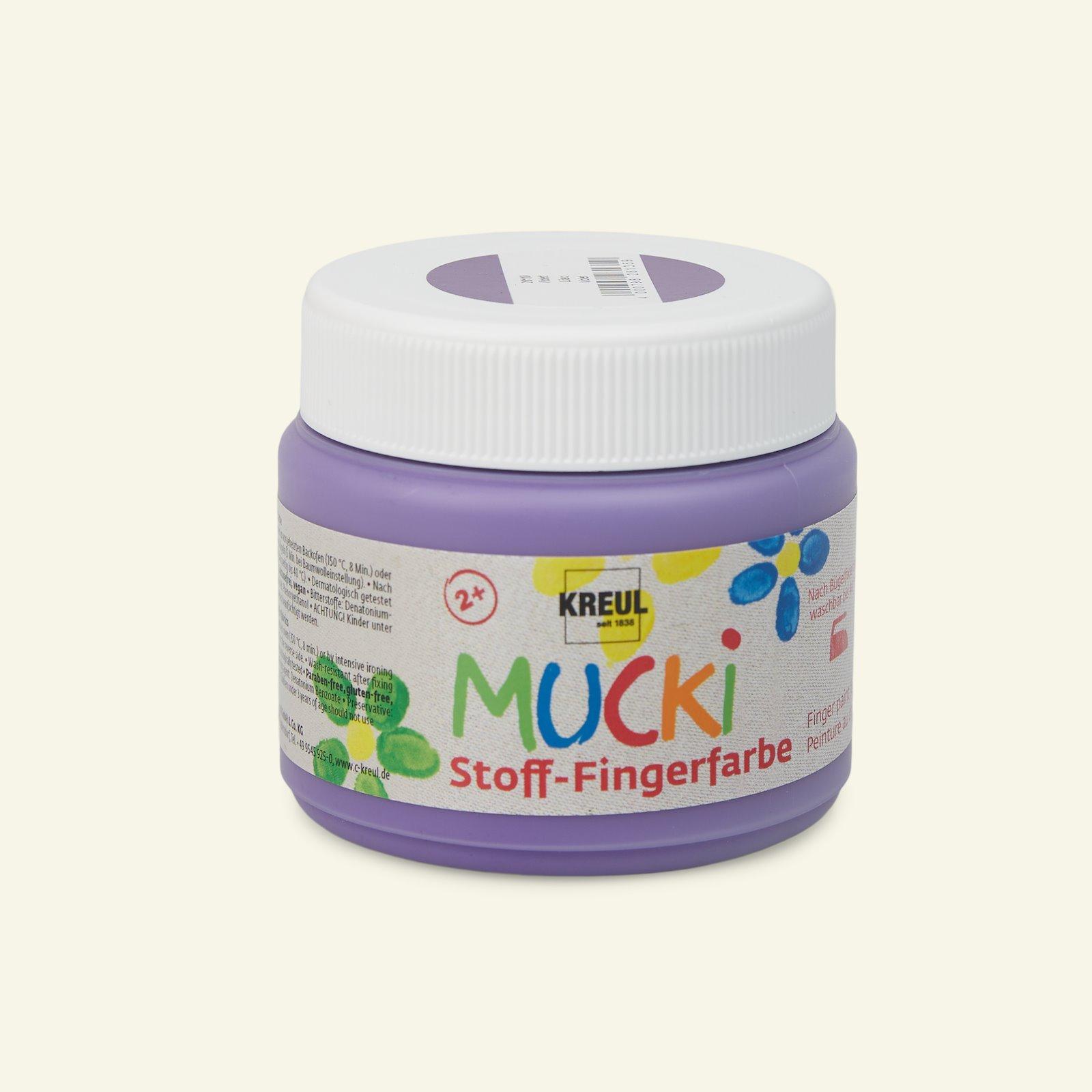 MUCKI finger paint, purple, 150ml 29690_pack_b