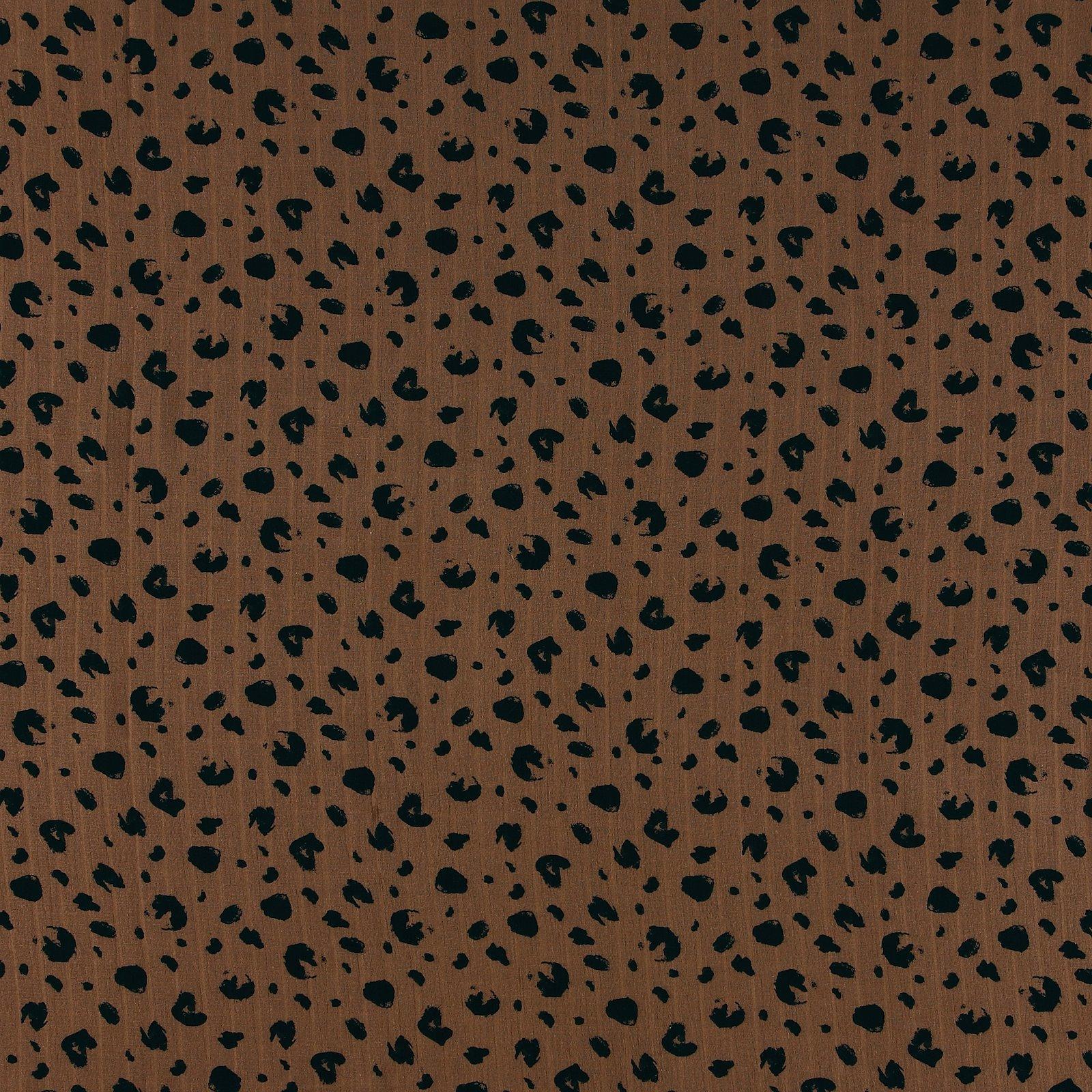 Muslin brown w leo print 501624_pack_sp