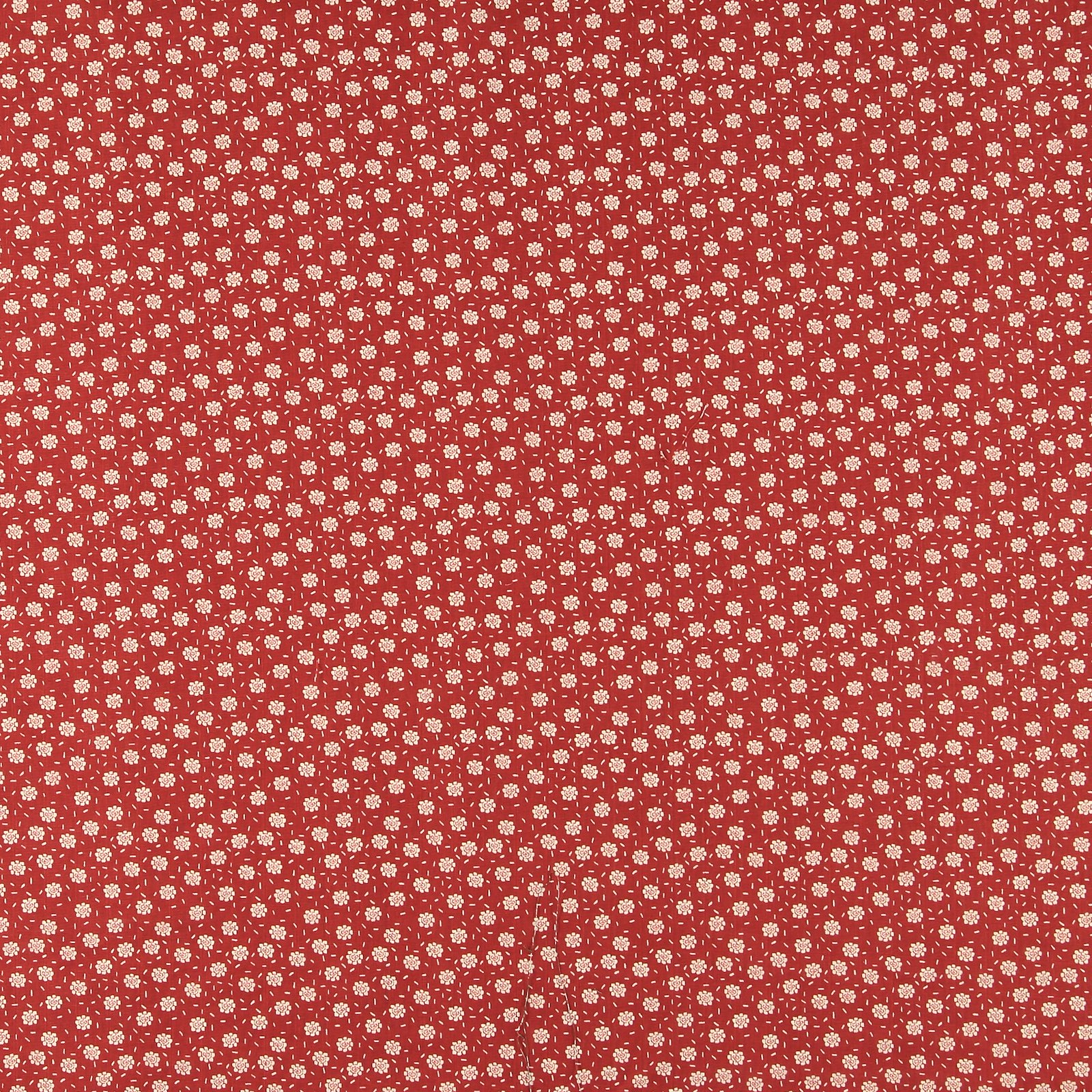 Muslin dusty red with petite flowers 501865_pack_sp