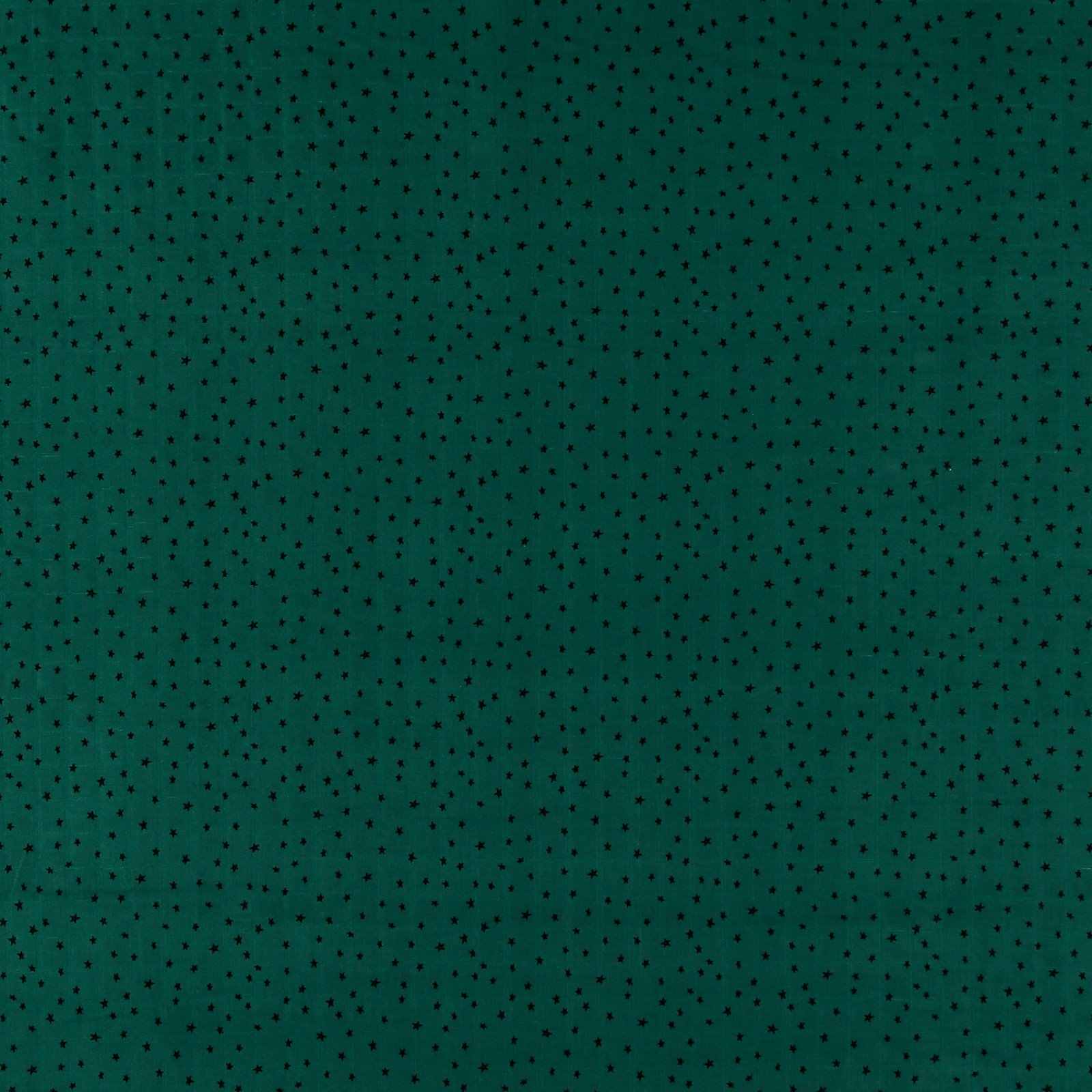 Muslin petrol green with stars 501863_pack_sp