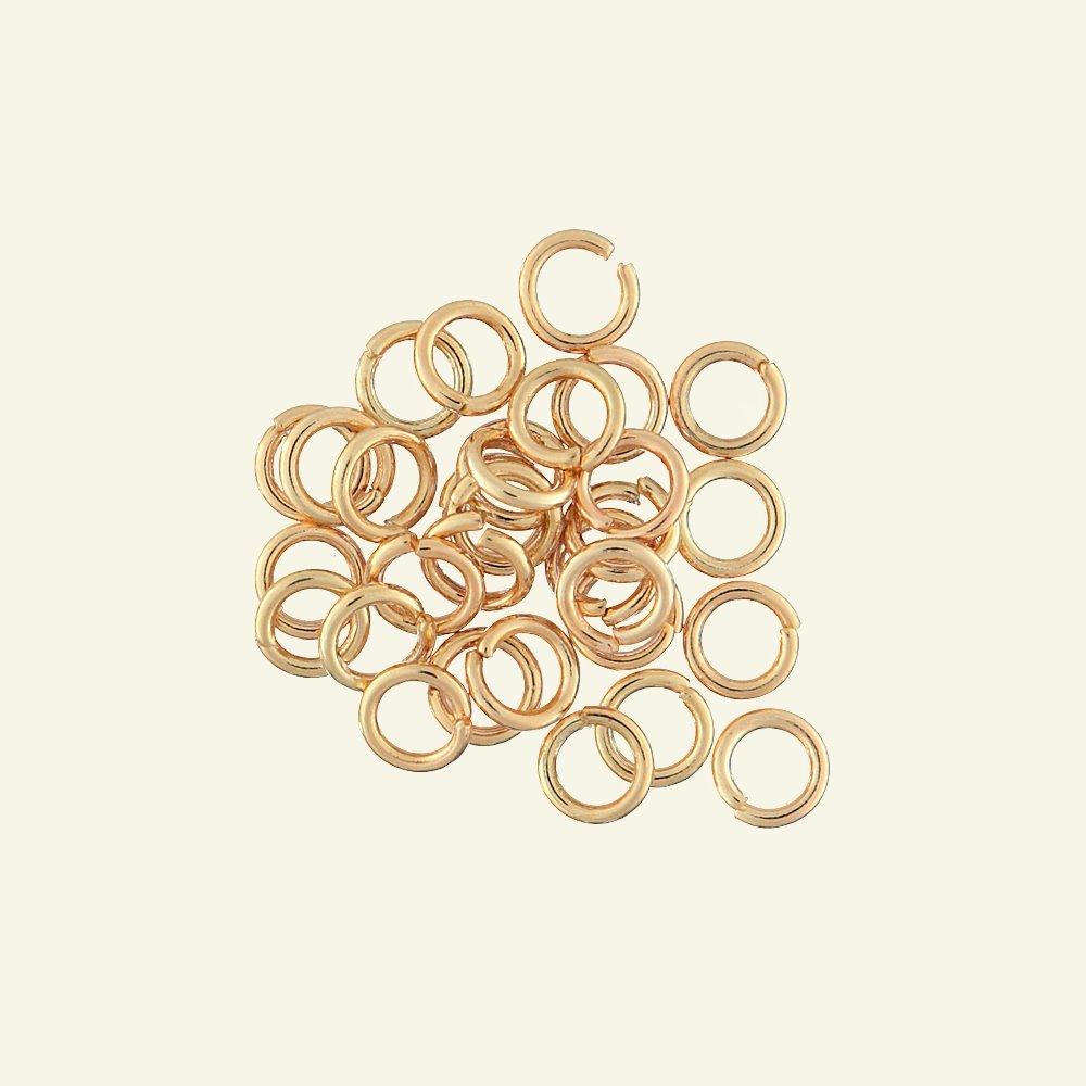 O-ring 10mm/6,5mm gold 30pcs 45739_pack