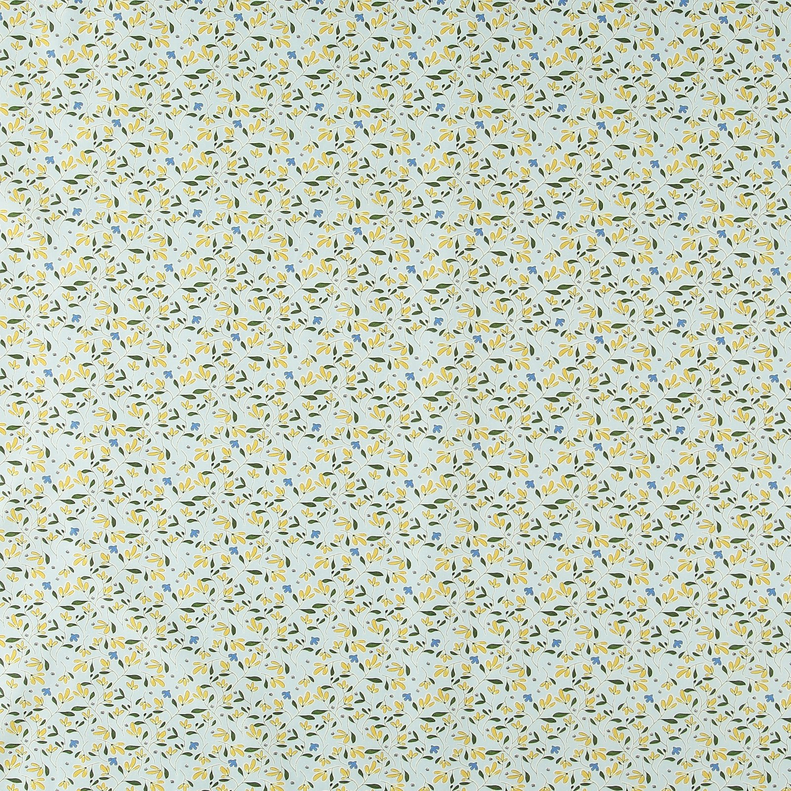 Organic cotton blue w flowers/birds 780523_pack_sp