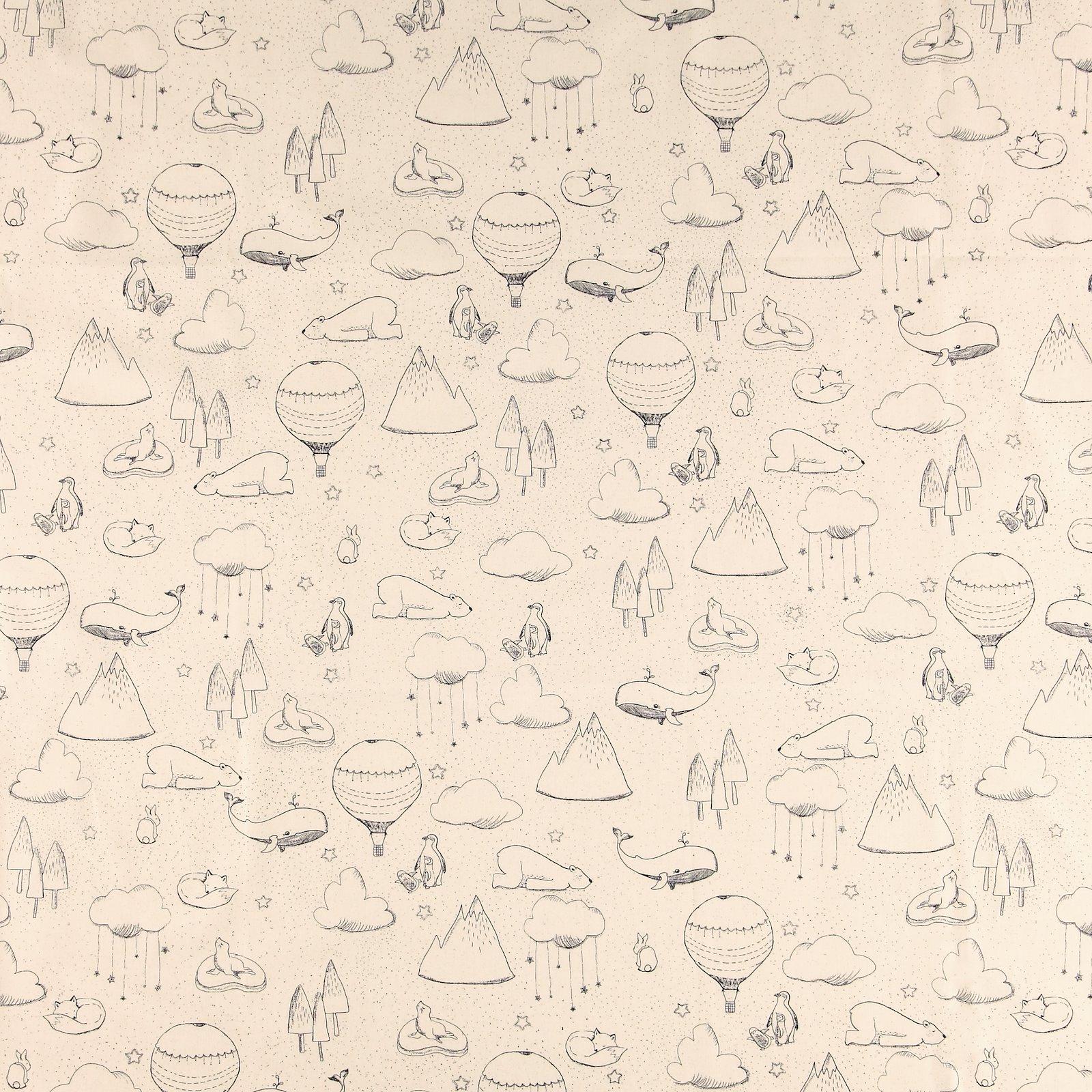Organic cotton nature w animal print 780338_pack_sp