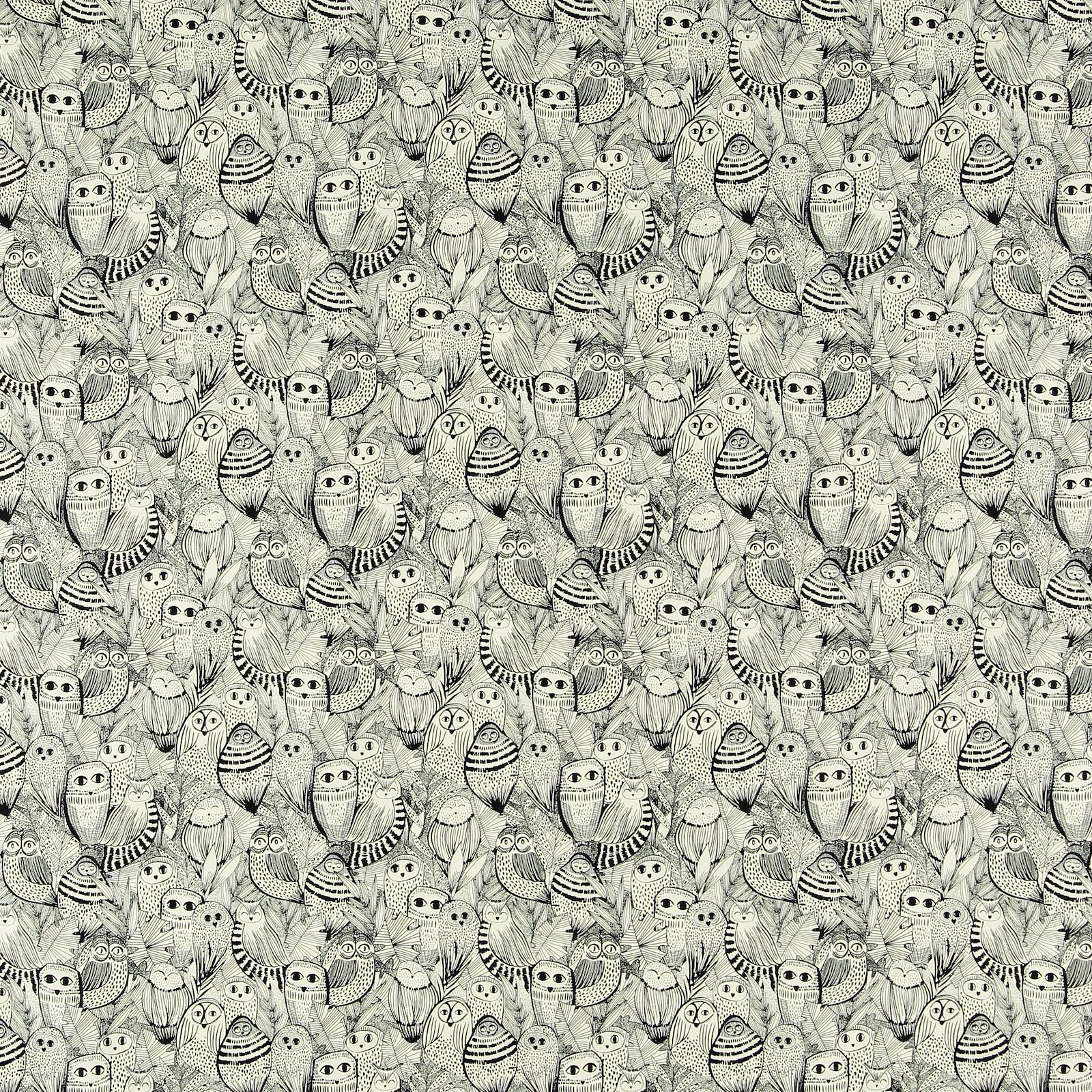 Organic cotton unbleached with owls 780501_pack_sp