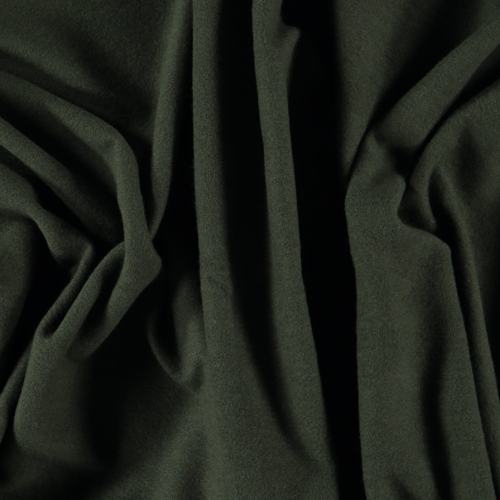 Organic french terry army green brushed 211771_pack