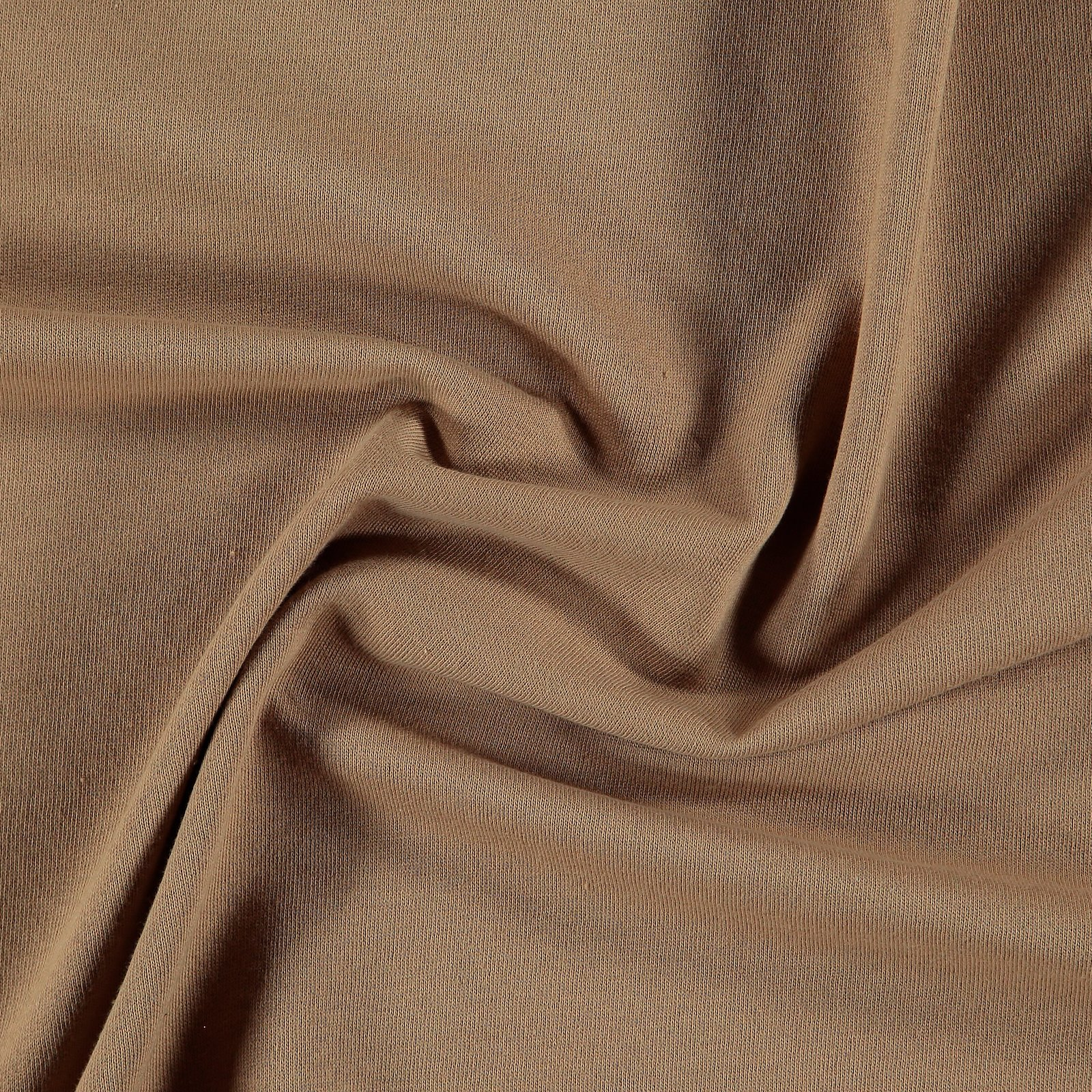 Organic french terry dark beige brushed 211793_pack