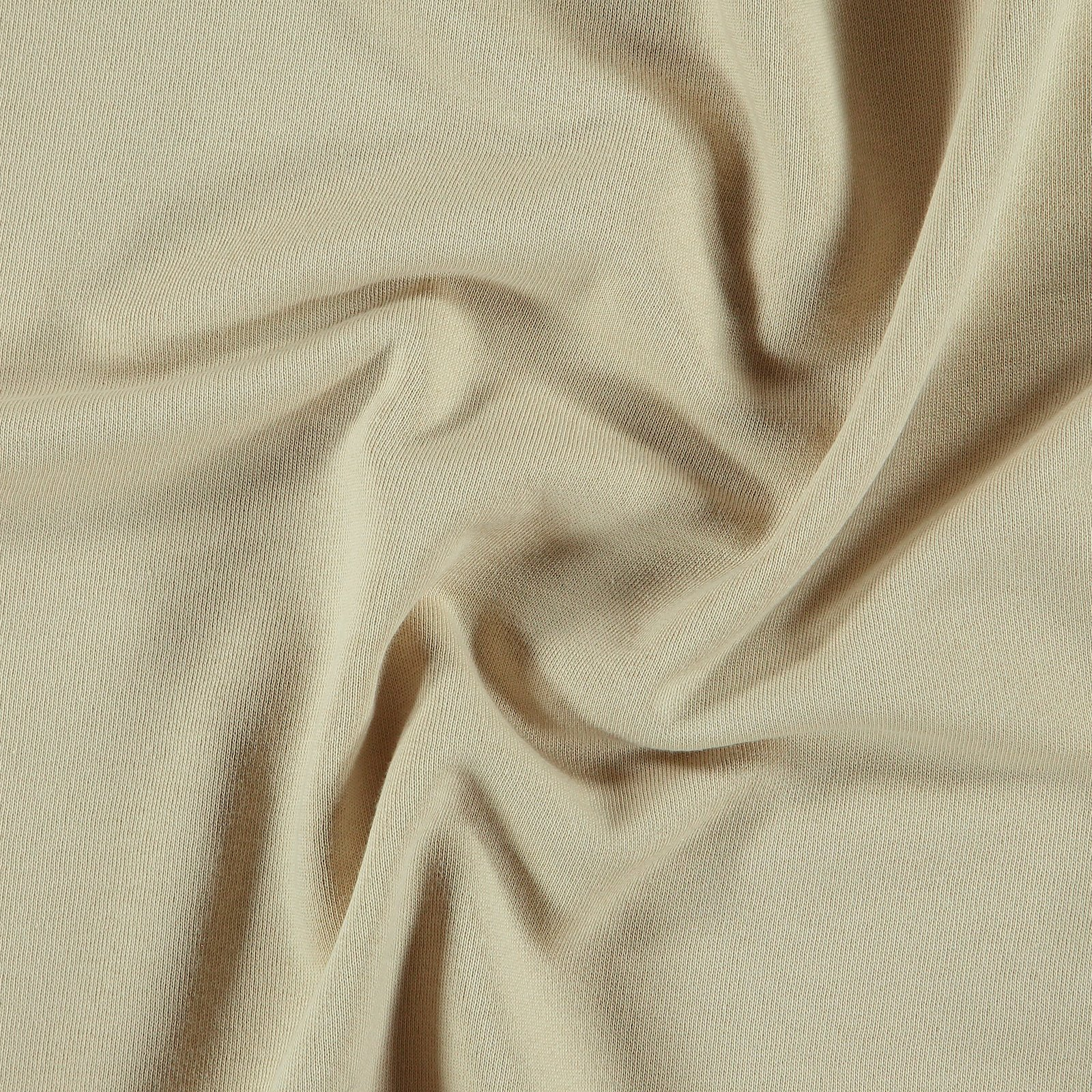Organic french terry sand brushed 211792_pack