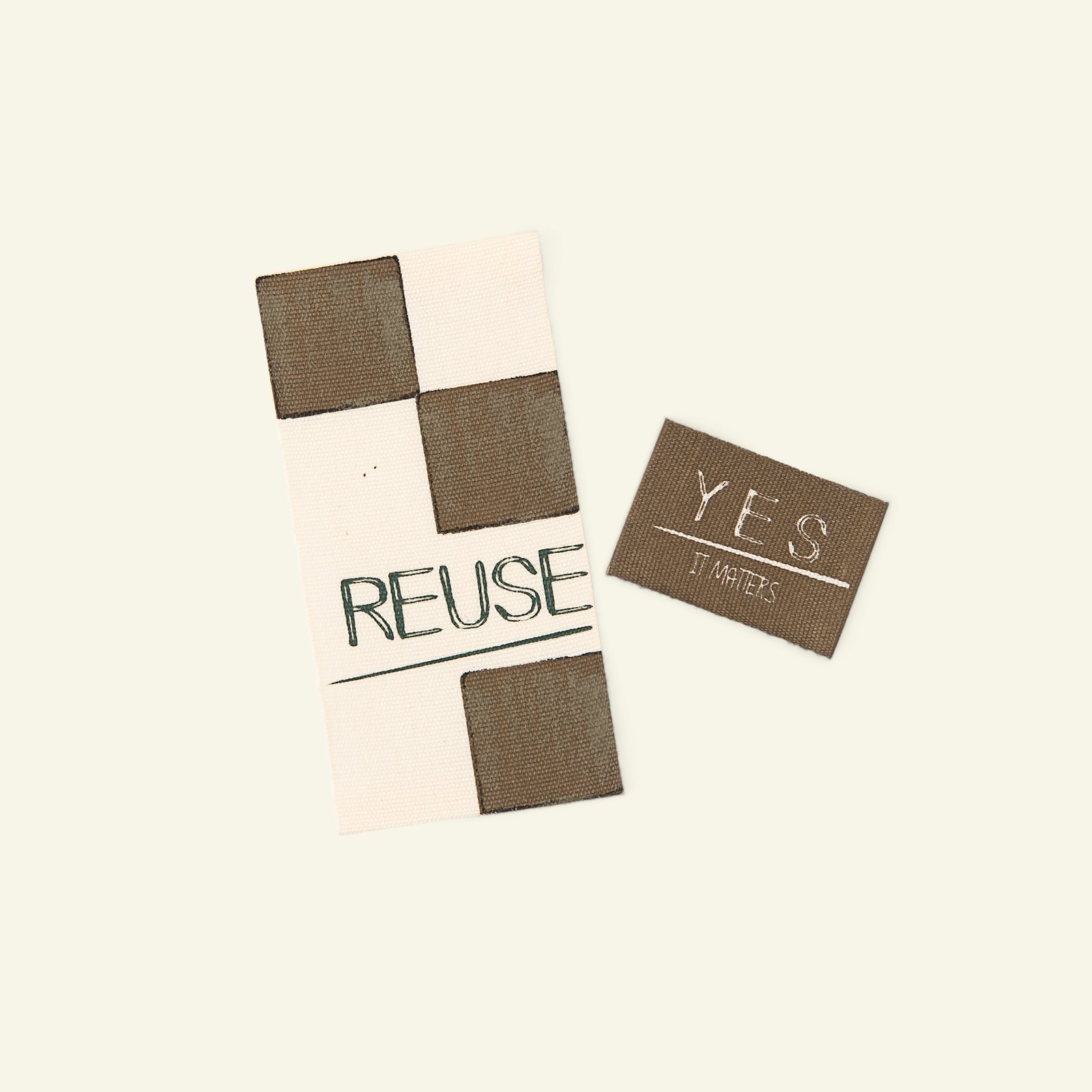 Organic patch kit REUSE/YES brown 2pcs 24847_pack