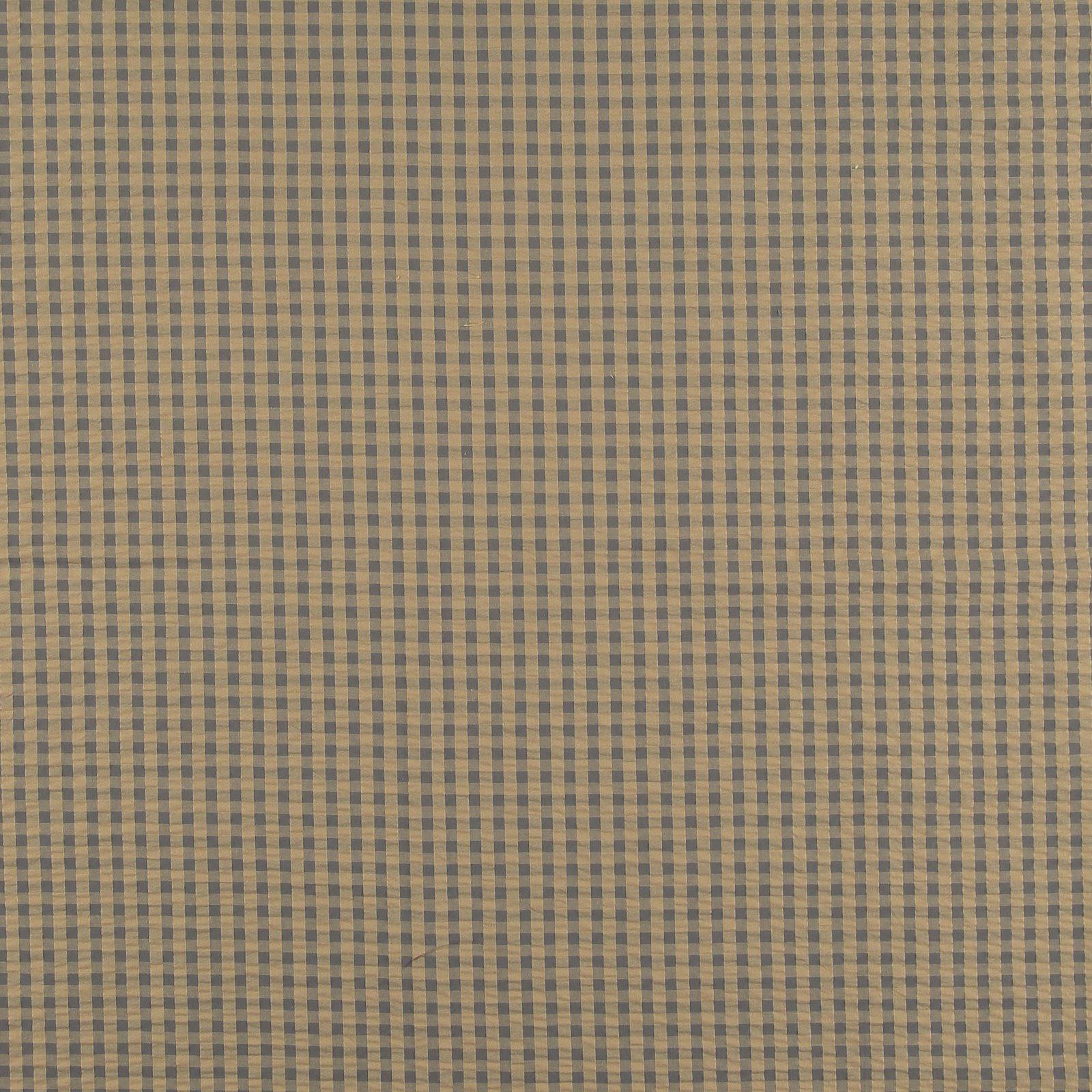 Organic seersucker beige/warm grey check 580071_pack_sp
