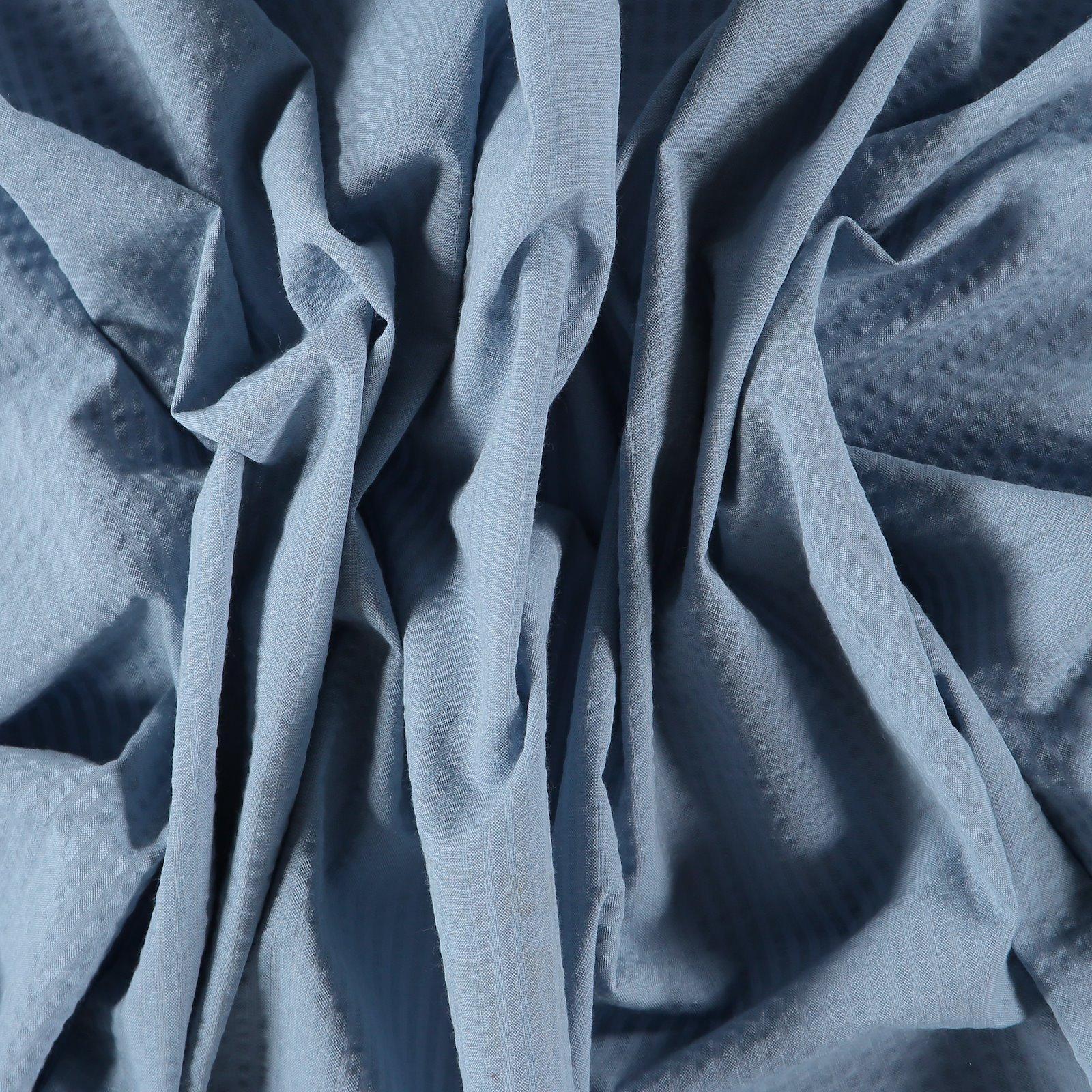 Organic seersucker dusty light blue 580038_pack