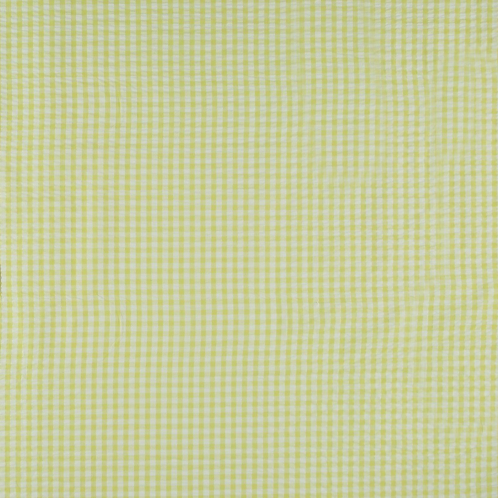 Organic seersucker lemon/white check 580046_pack_sp