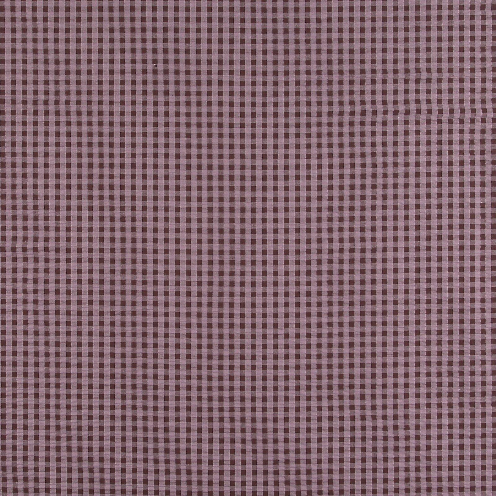Organic seersucker violet/chestnut check 580070_pack_sp