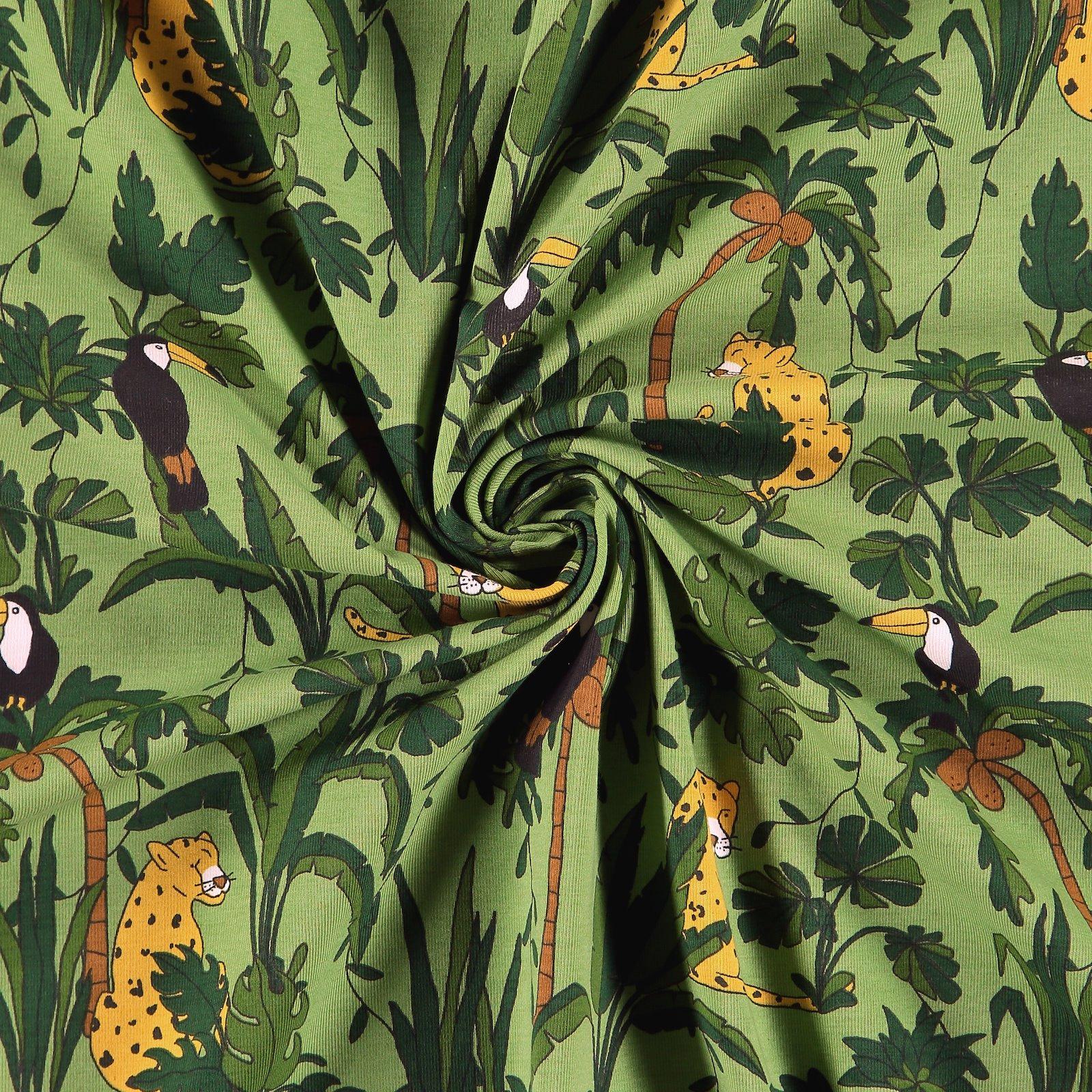 Organic st jersey green w jungle print 272832_pack