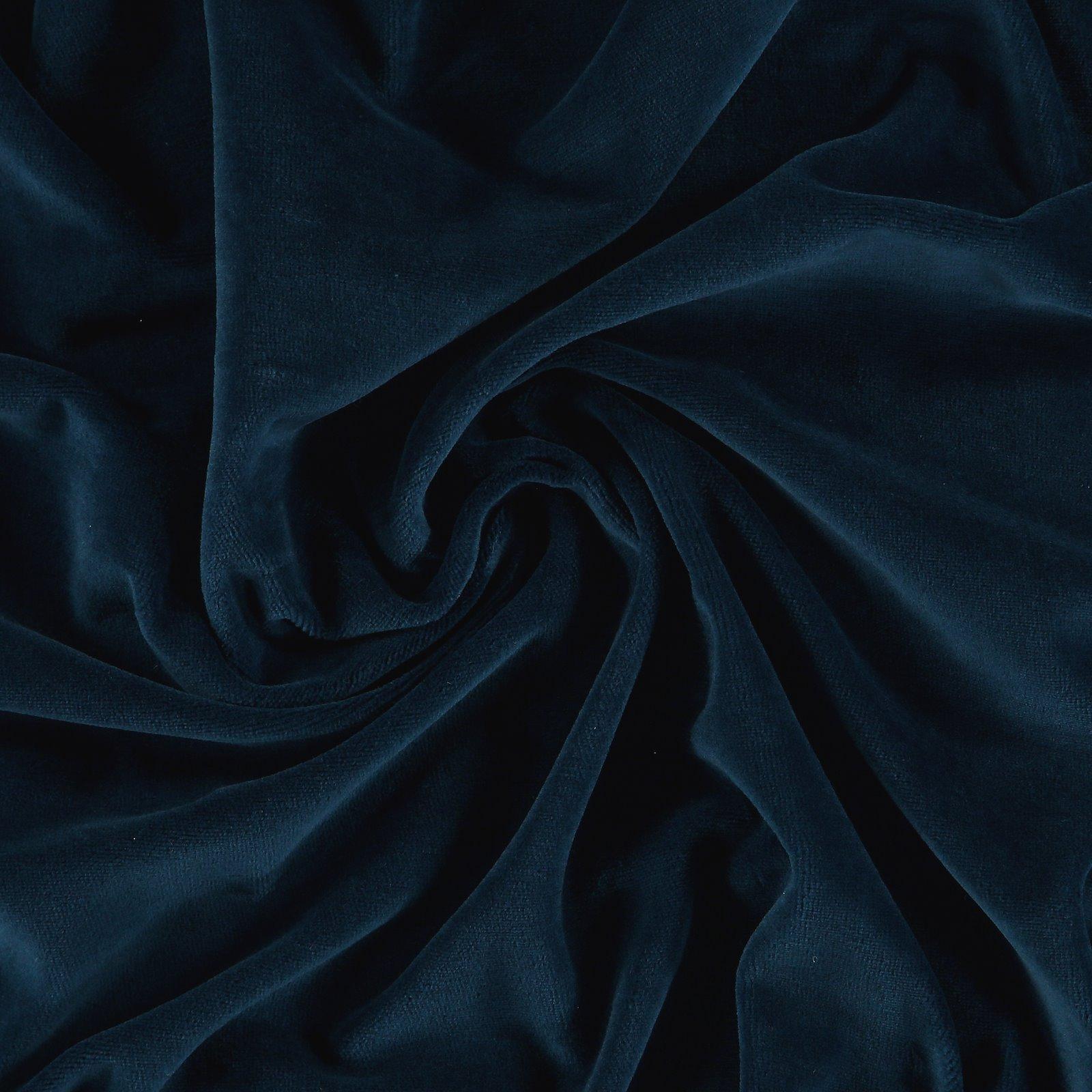 Organic st velvet cotton dusty dark blue 250737_pack