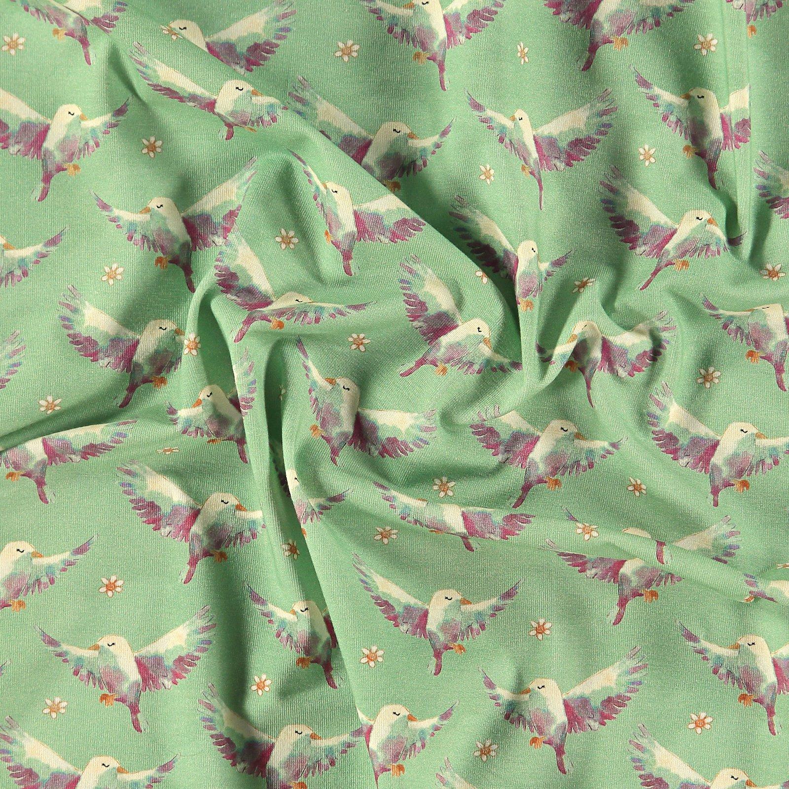 Organic Str.-Jersey, Hell Salbei, Vögel 272770_pack