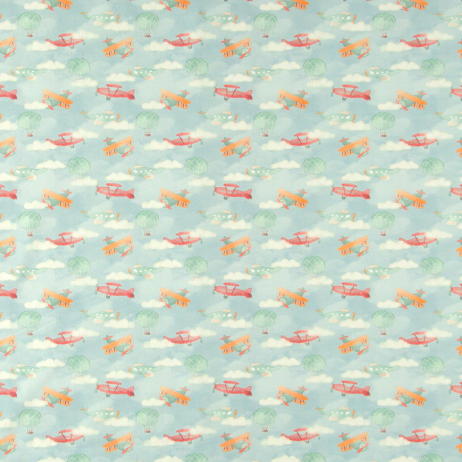 Organic stretch jersey aqua w airplane 272749_pack_sp