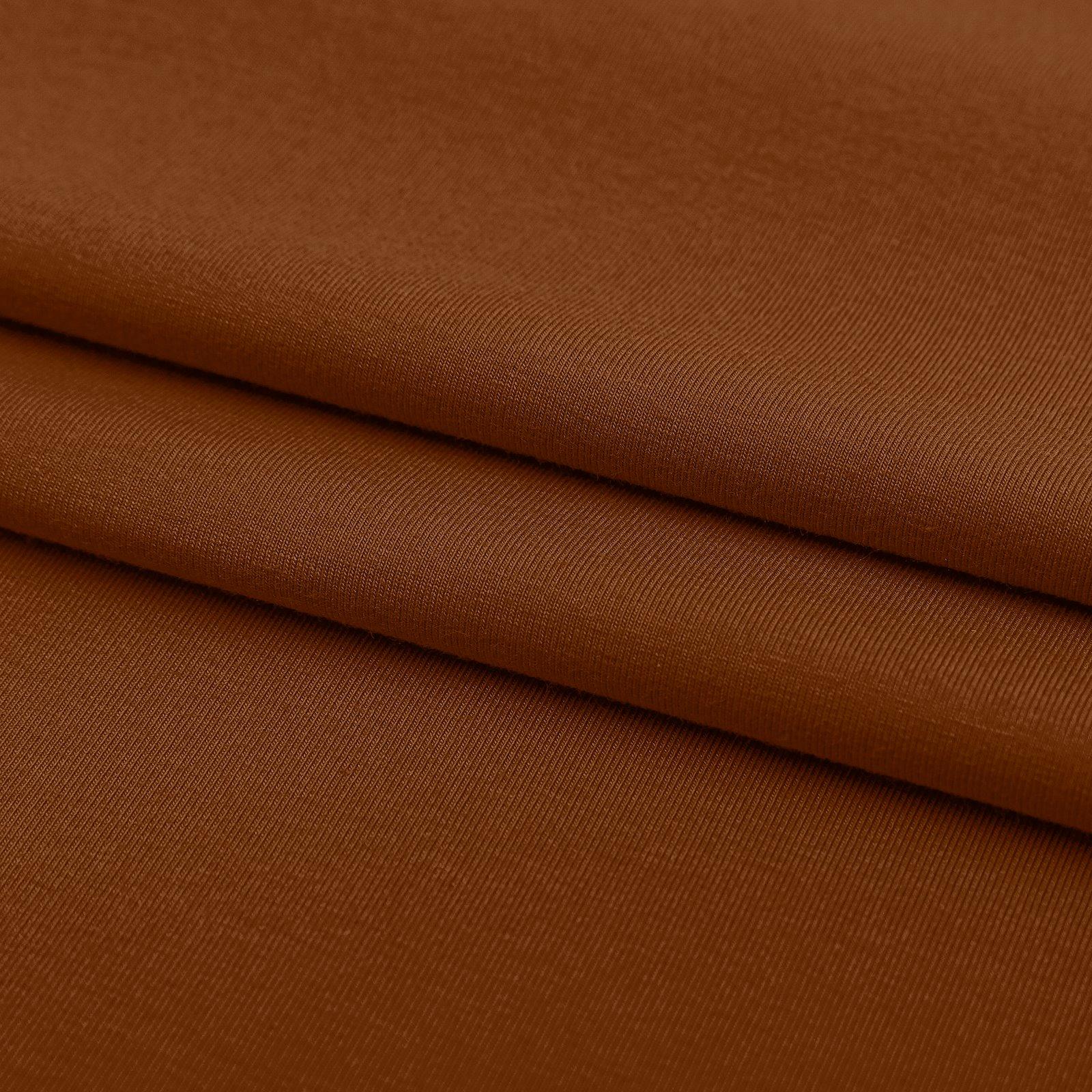 Organic stretch jersey dark caramel 272655_pack_d