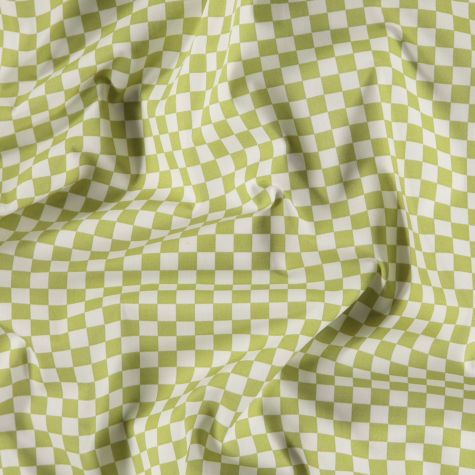 Organic woven cotton lime/off white 501906_pack