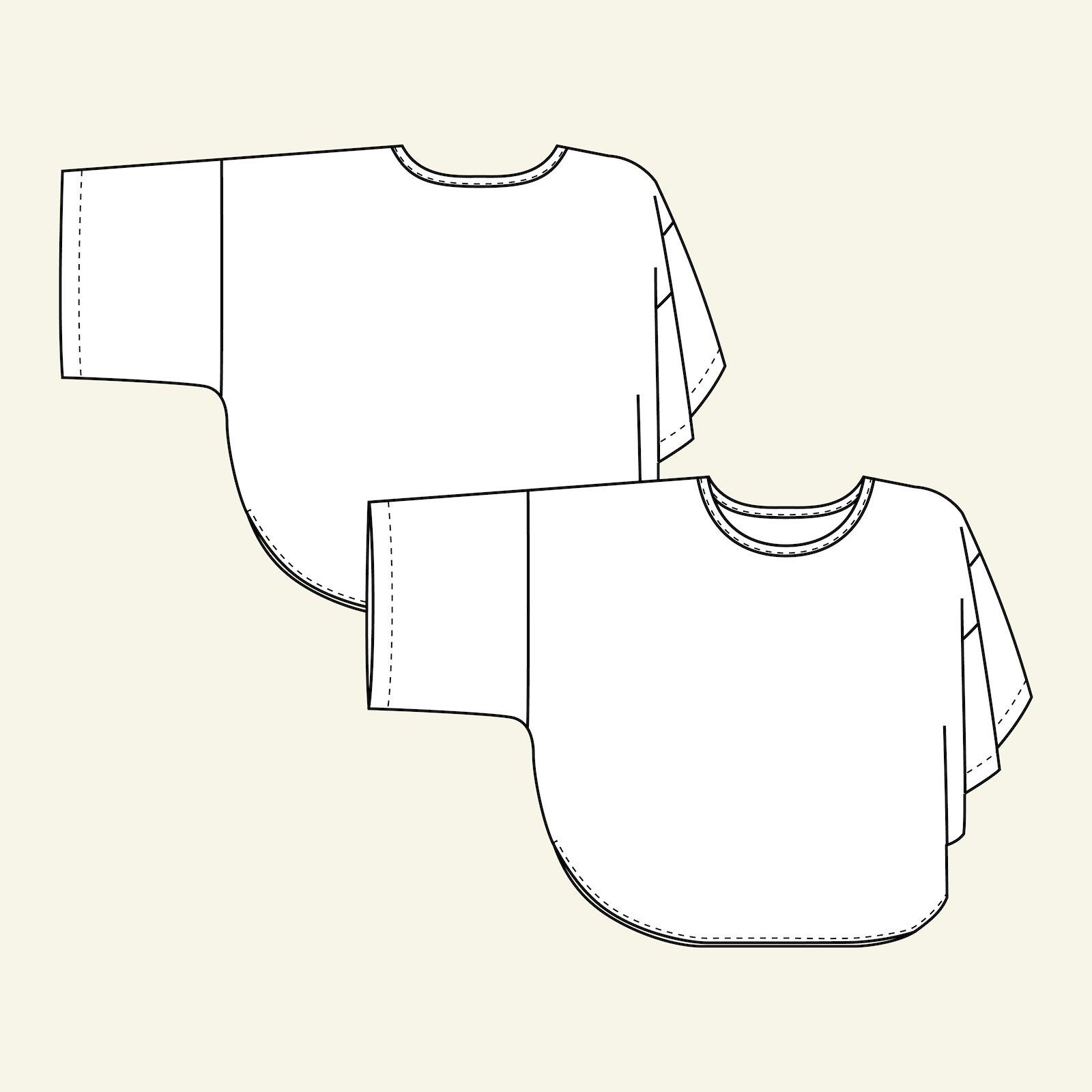 Oversize blouse, L/XL p22063_pack