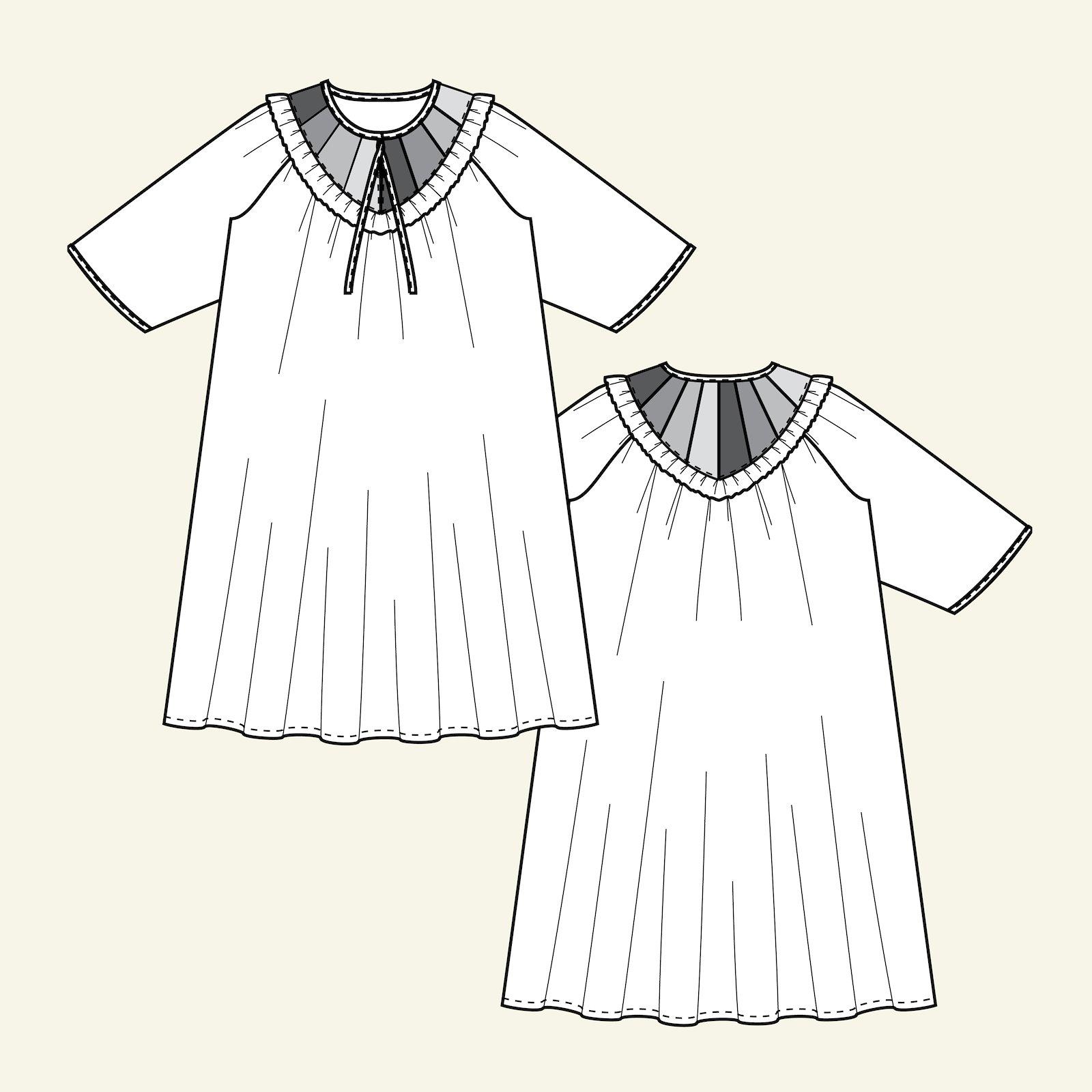 Oversize Kleid mit Passe p23169_pack