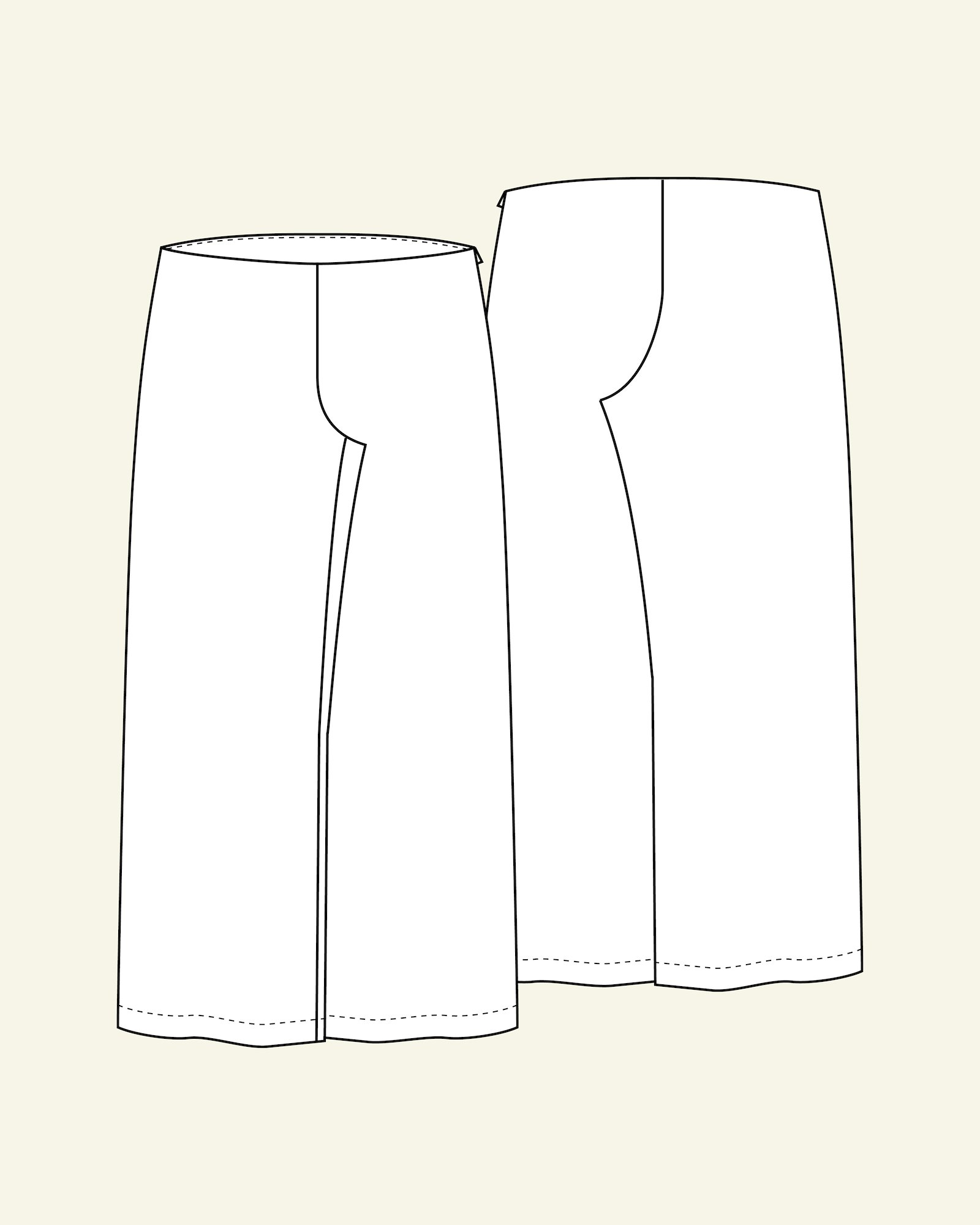 Trousers, 36/8