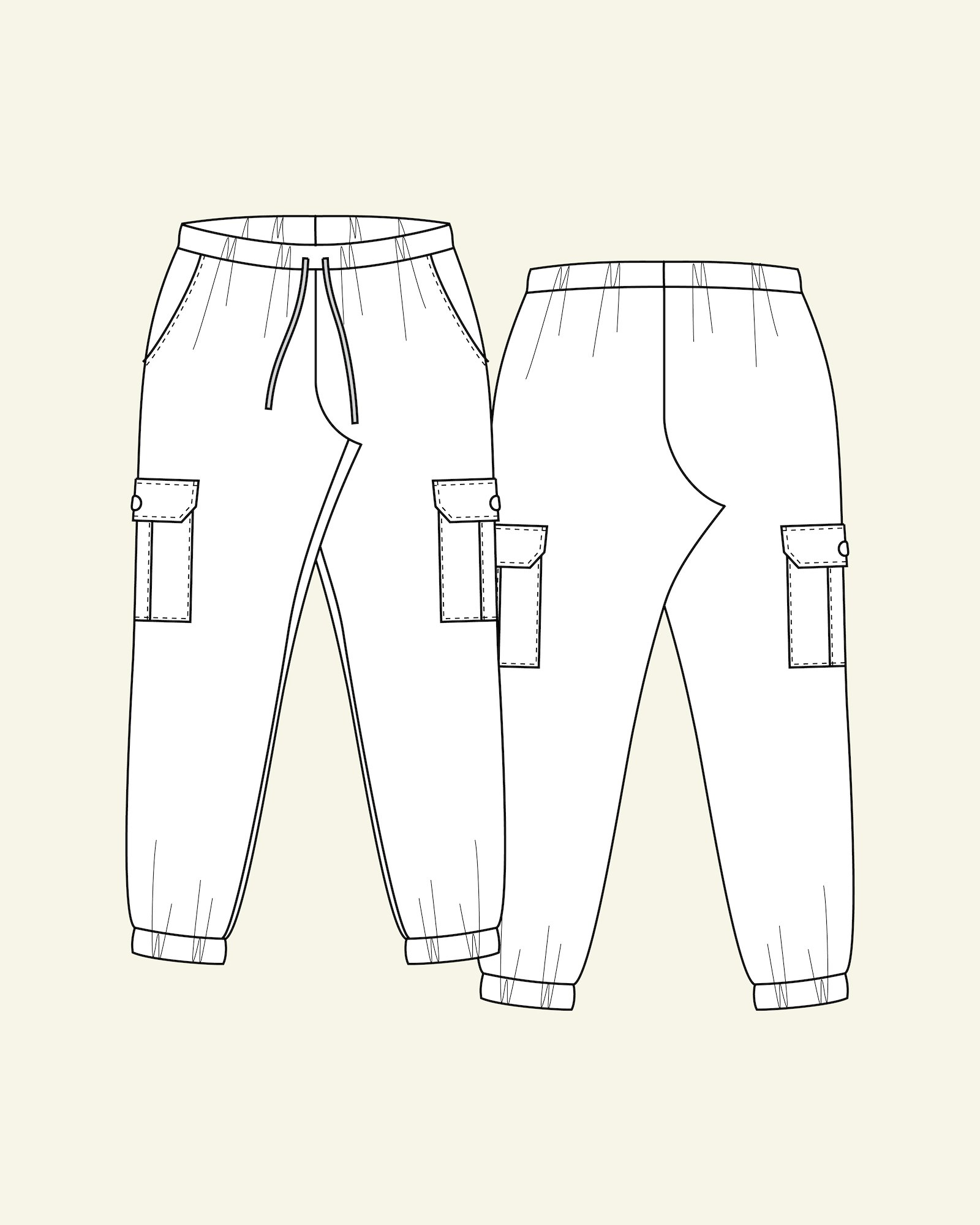 Cargo trousers, 44/16