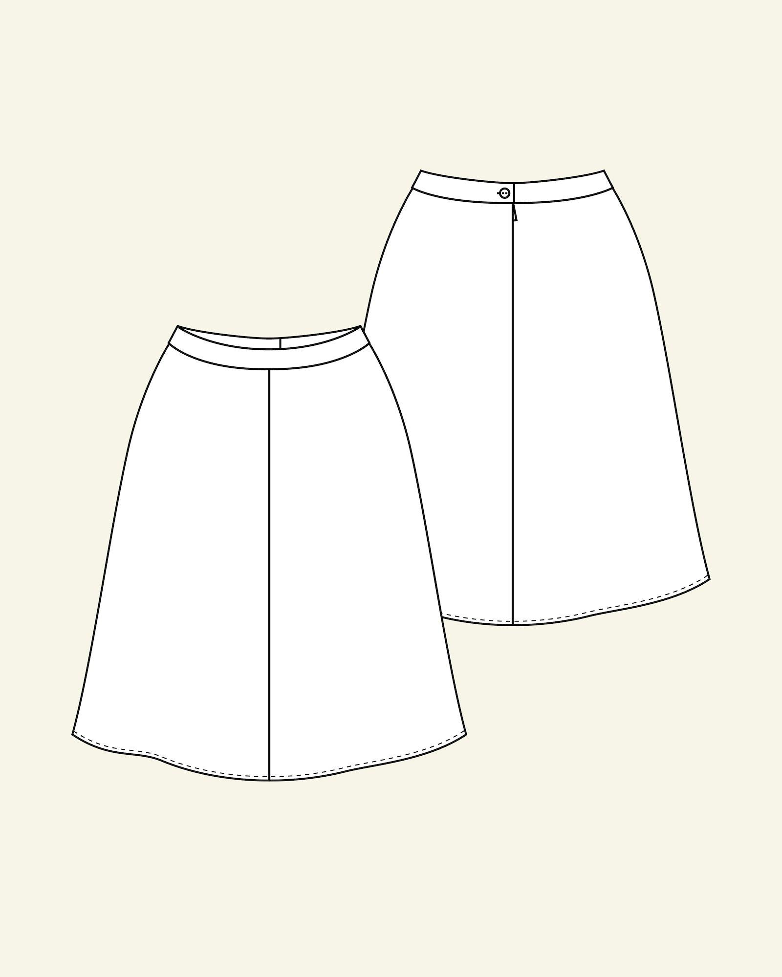 Skirt with A-shape