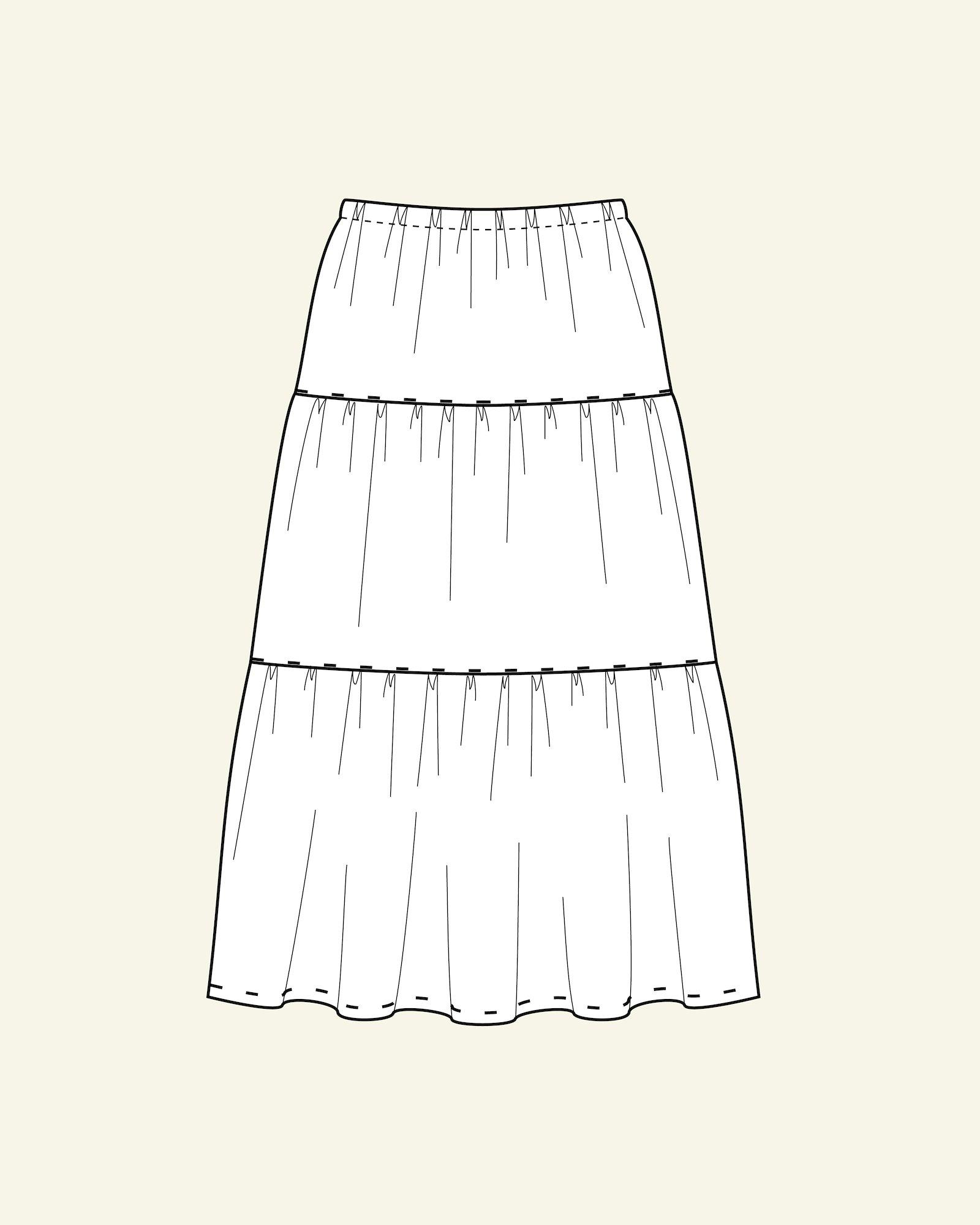Split level skirt, XL