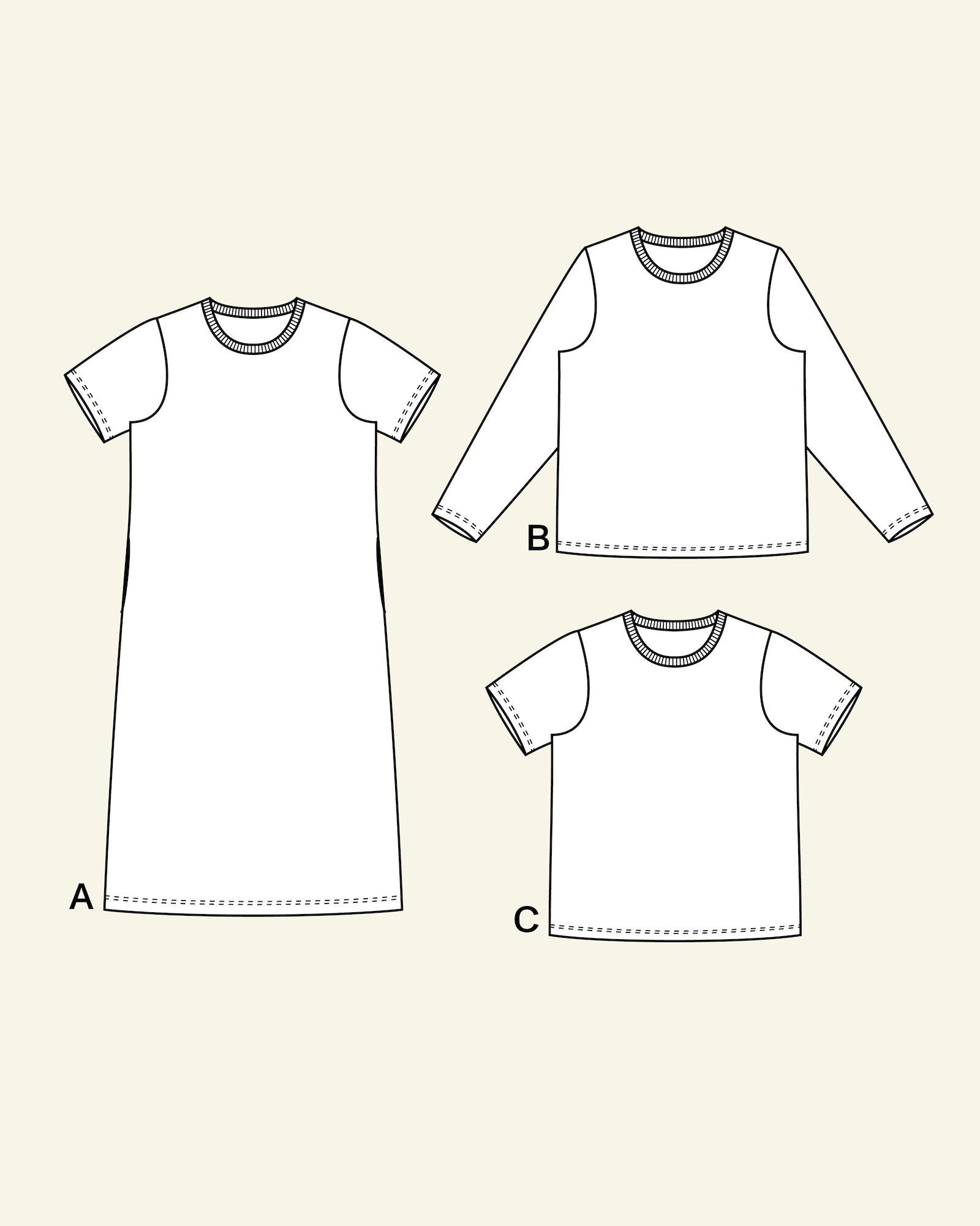 Raglan t-shirt, 44/16