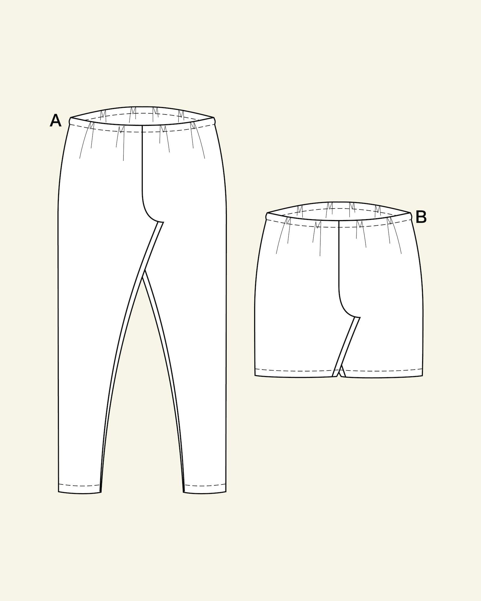 Leggings long/short, 104/4y