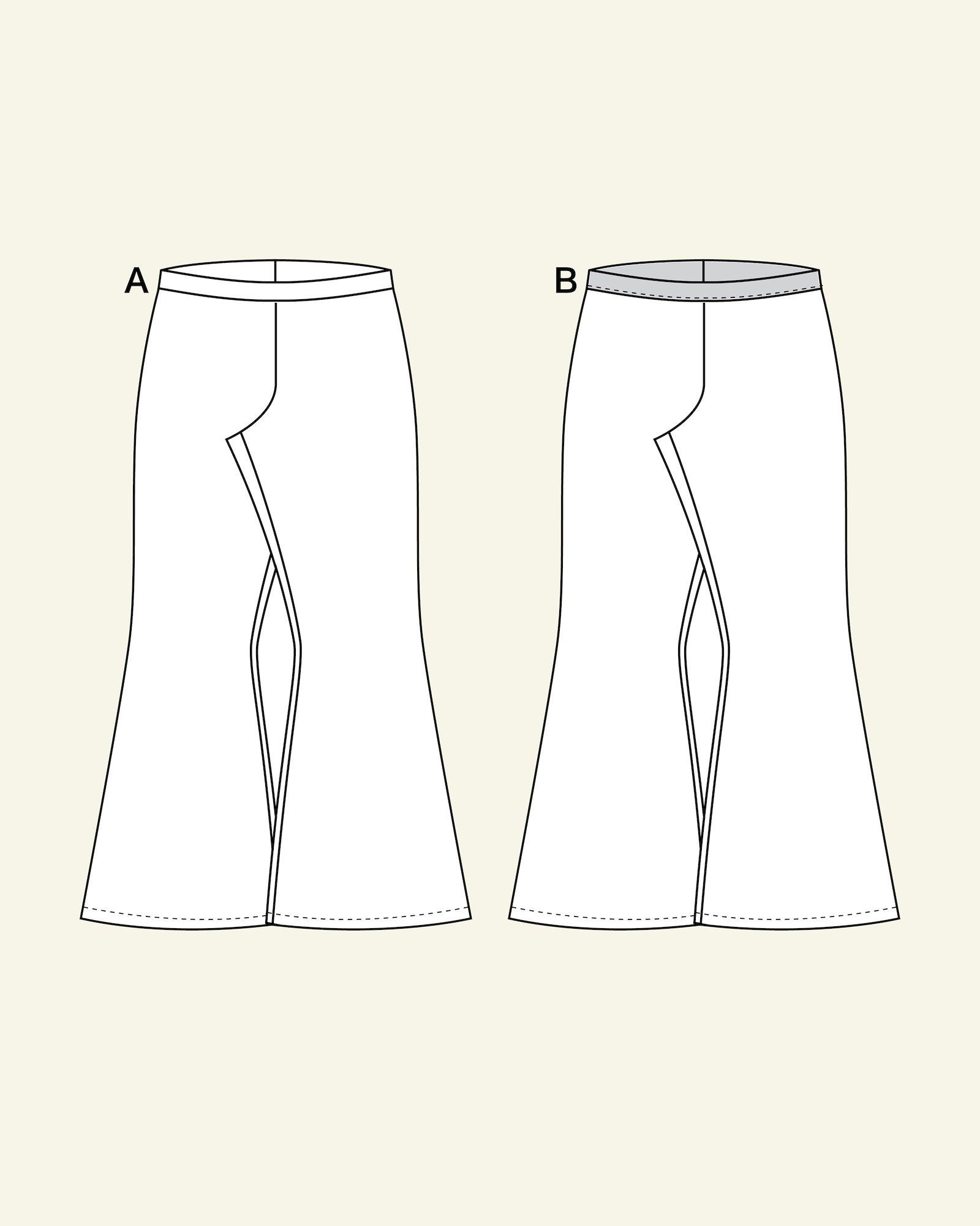 High waist trompet trouser, 152/12y