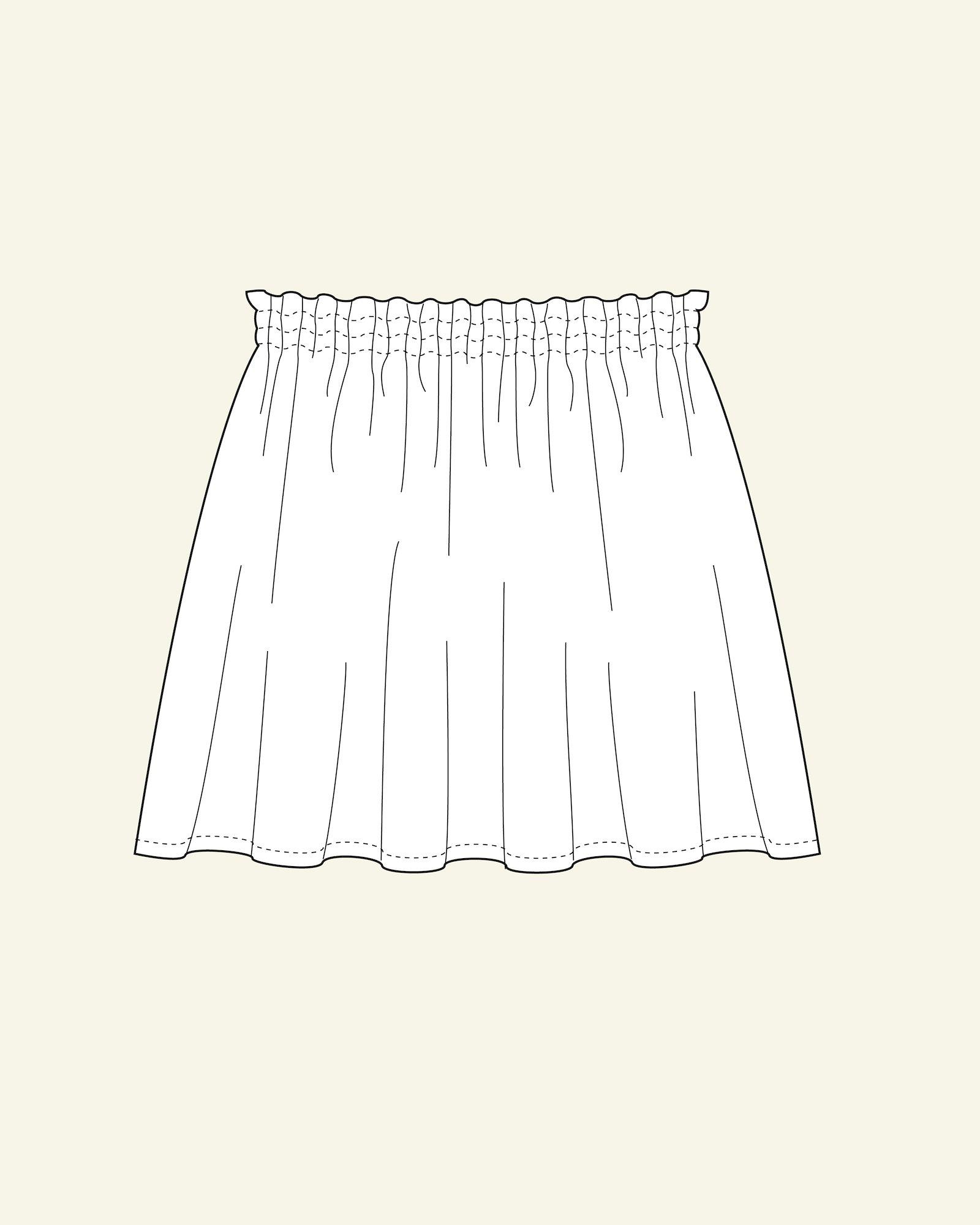 Wide skirt, 128/8y
