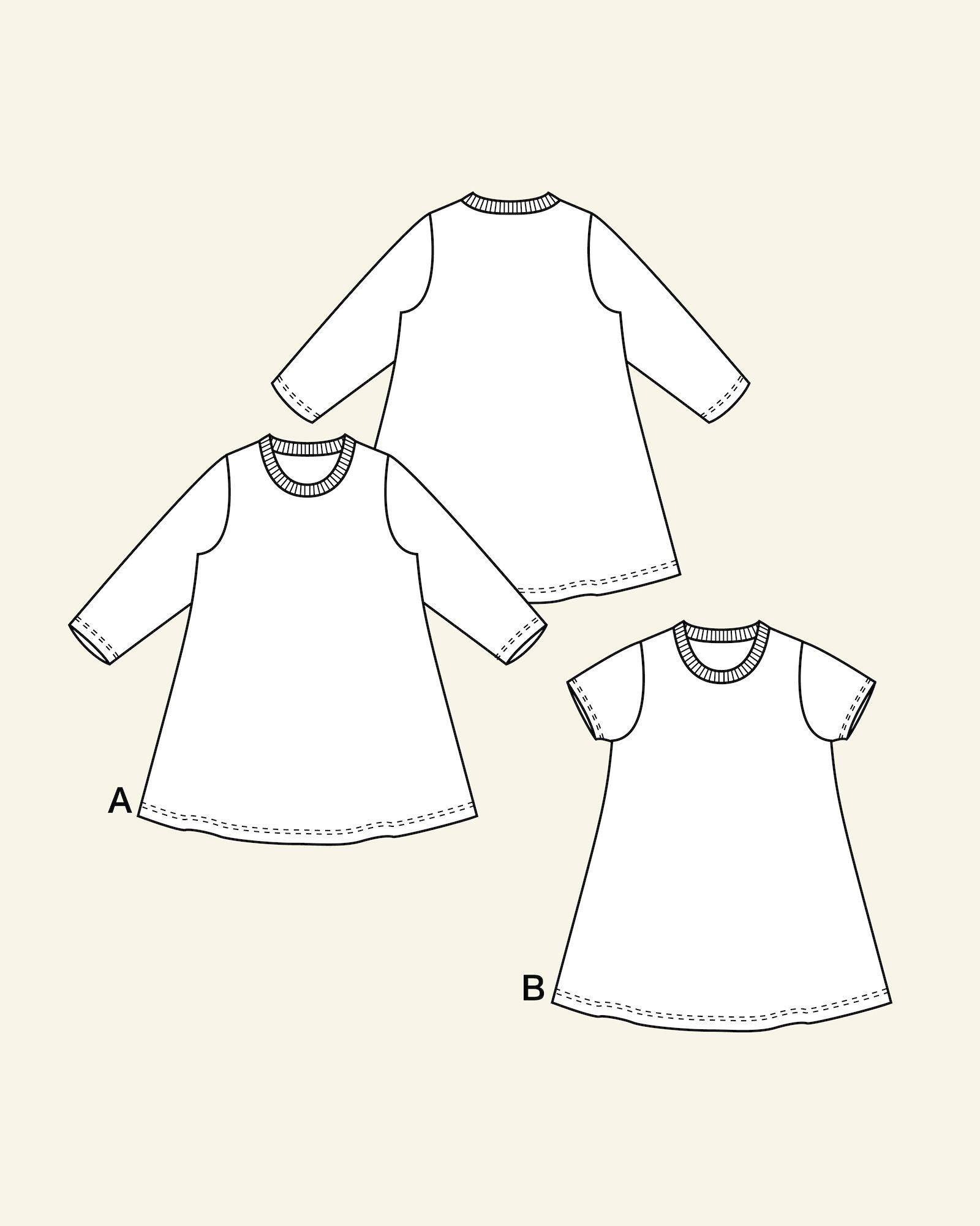 Jersey dress, 104/4y