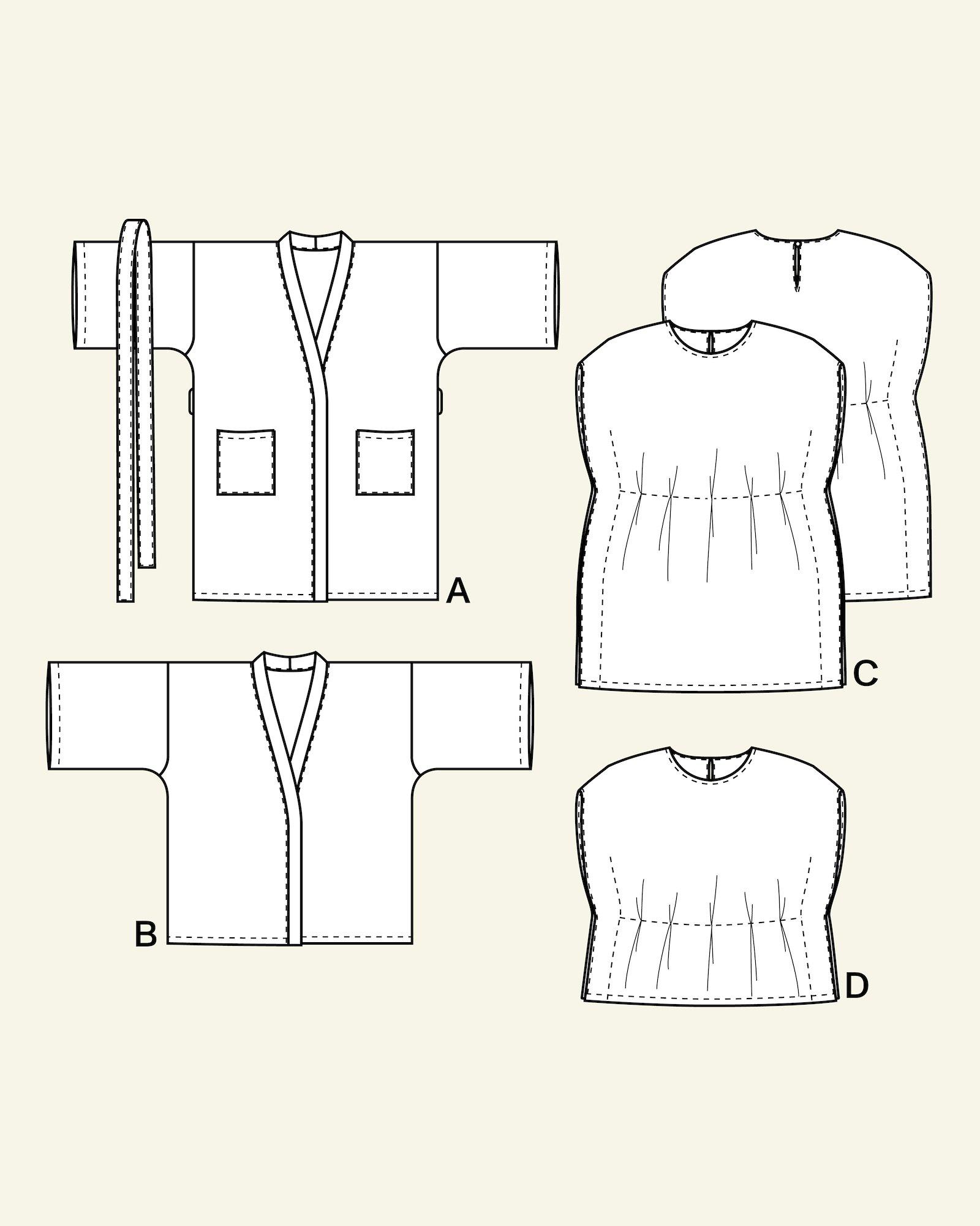 Kimono and tunika, 104/4y