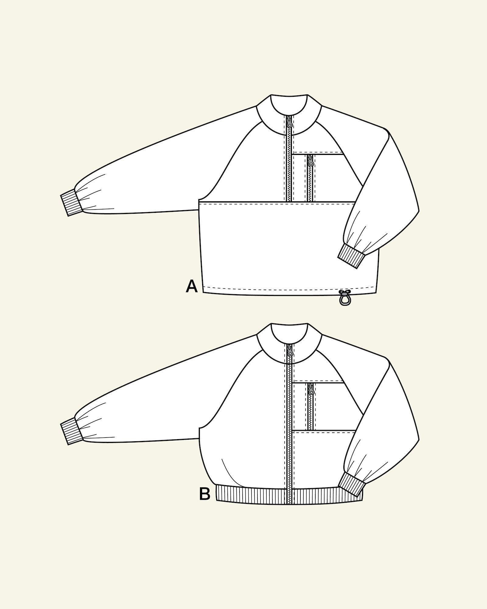 Anorak and jacket